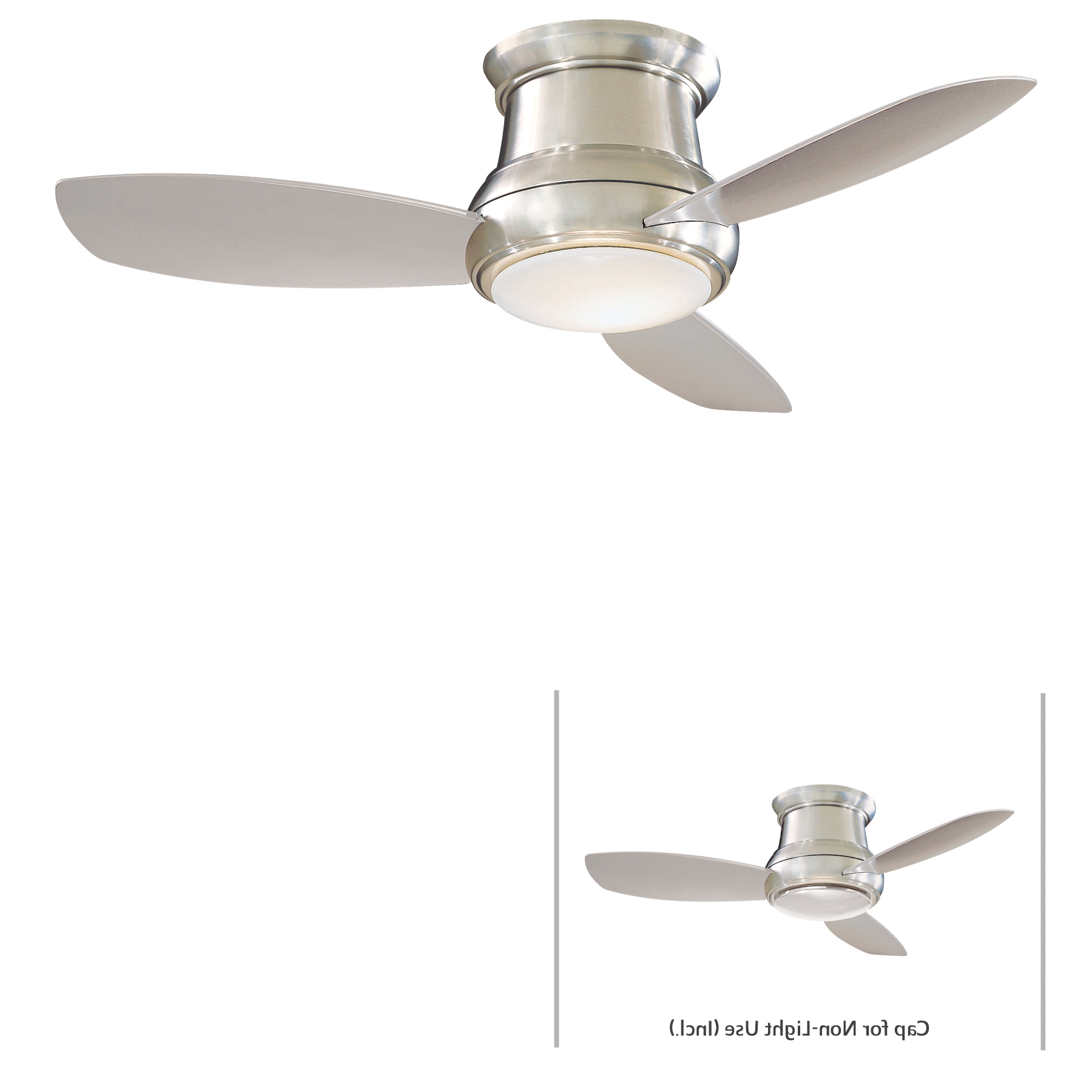 Concept Ii 3 Blade Led Ceiling Fans With Remote Inside Current Minka Group® :: Brands :: Minka Aire® :: F518L Bn (View 4 of 20)