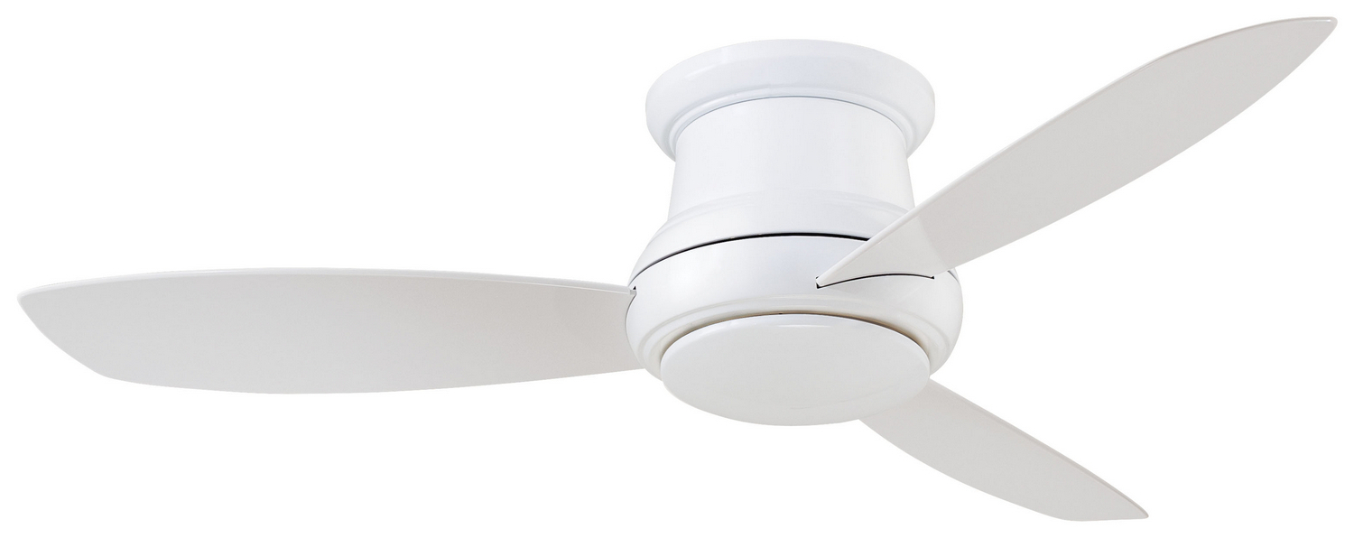 "Concept Ii 3 Blade Led Ceiling Fans With Remote Inside Recent 44""ceiling Fan (View 16 of 20)"