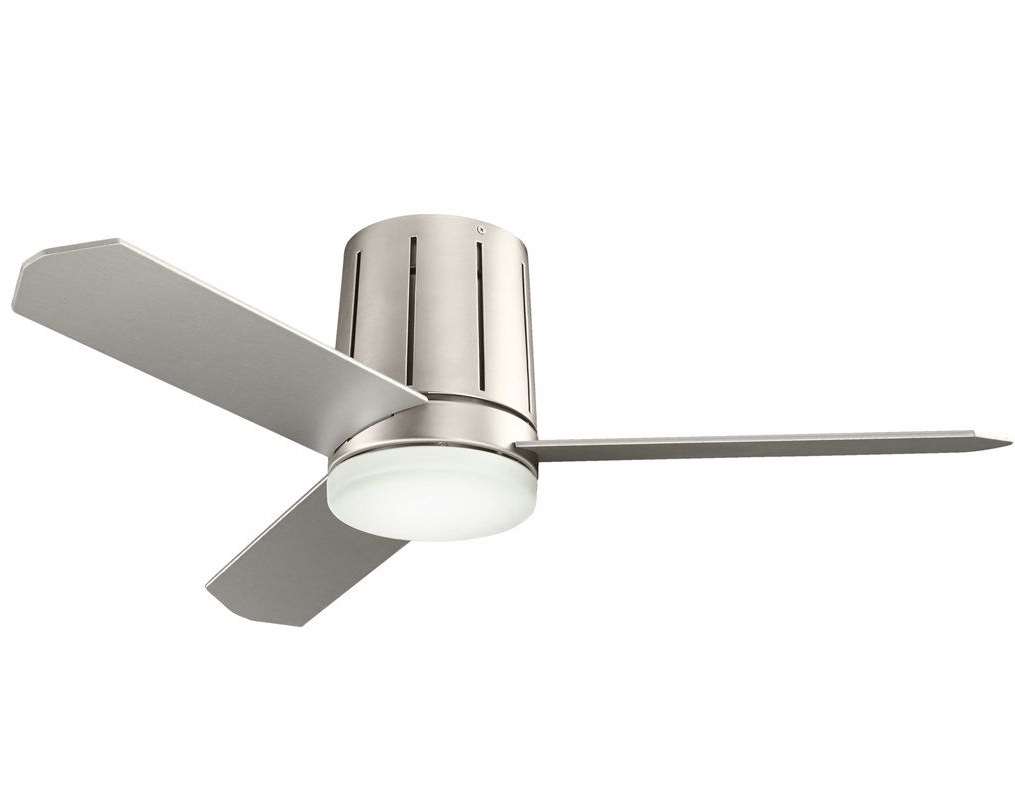 "Concept Ii 3 Blade Led Ceiling Fans With Remote Within Preferred View The Kichler 300130 Innes Ii 42"" Indoor Ceiling Fan With (View 18 of 20)"