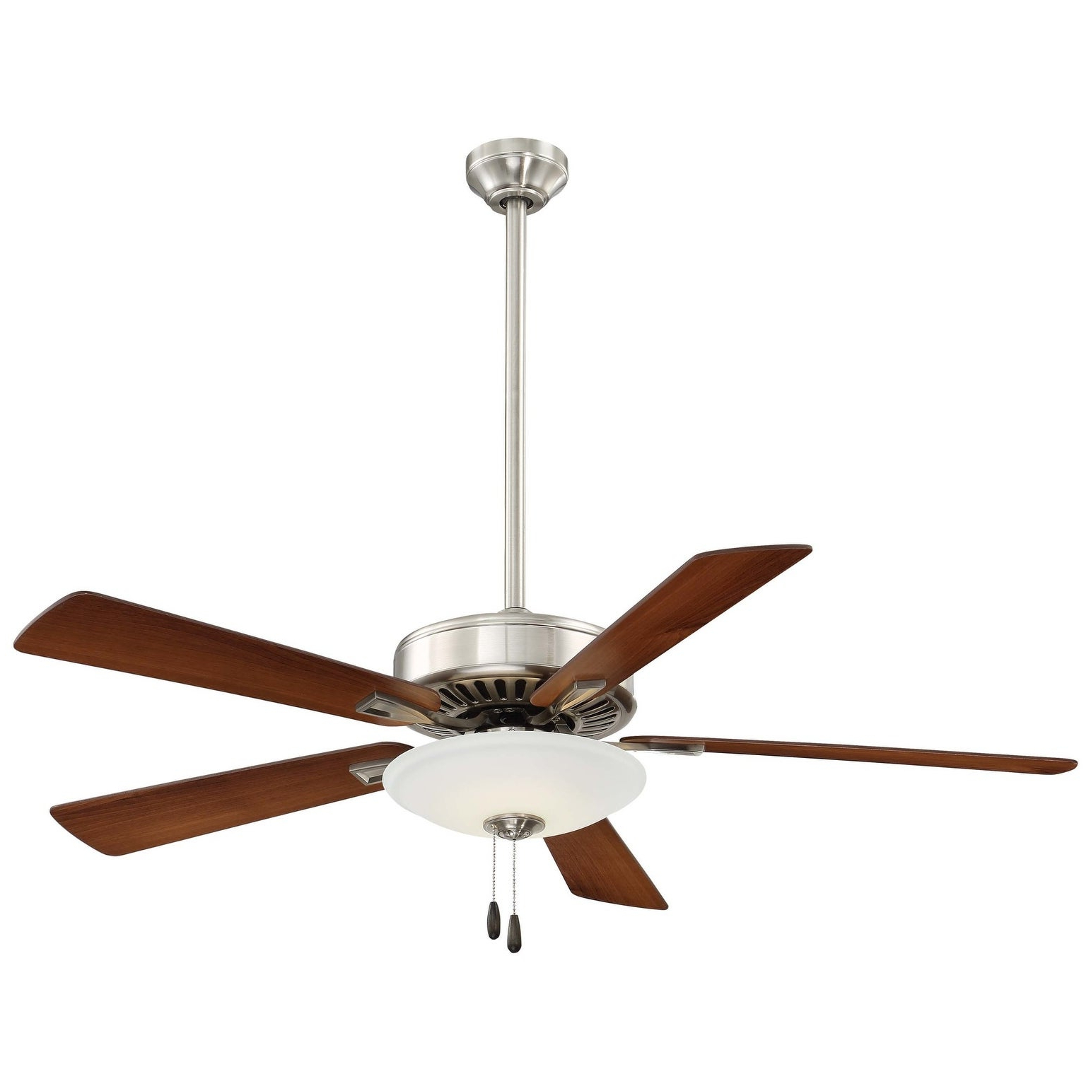 """Contractor 5 Blade Ceiling Fans Intended For Current Minkaaire Contractor Uni Pack Led Contractor Uni Pack 52"""" 5 Blade Led Indoor Ceiling Fan (View 20 of 20)"""