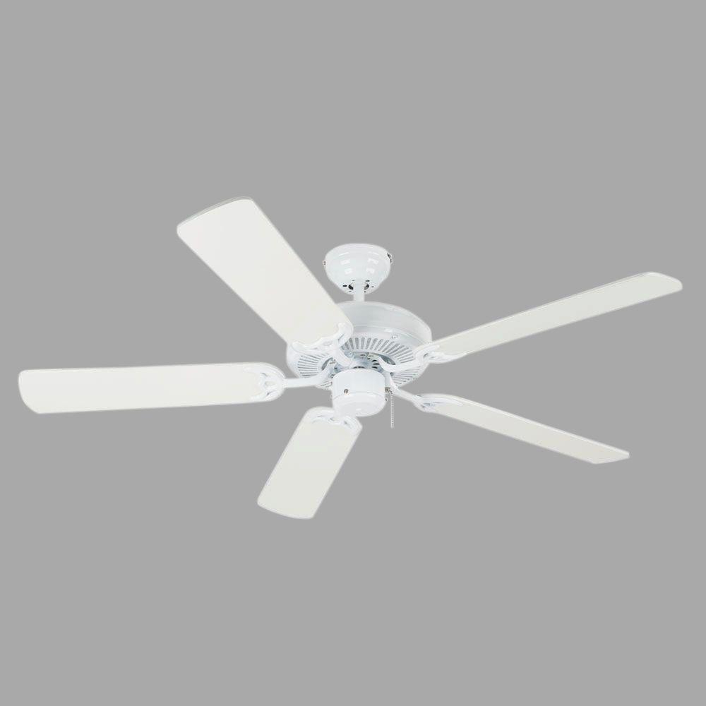Contractor 5 Blade Ceiling Fans With Current Westinghouse Contractor's Choice 52 In (View 4 of 20)
