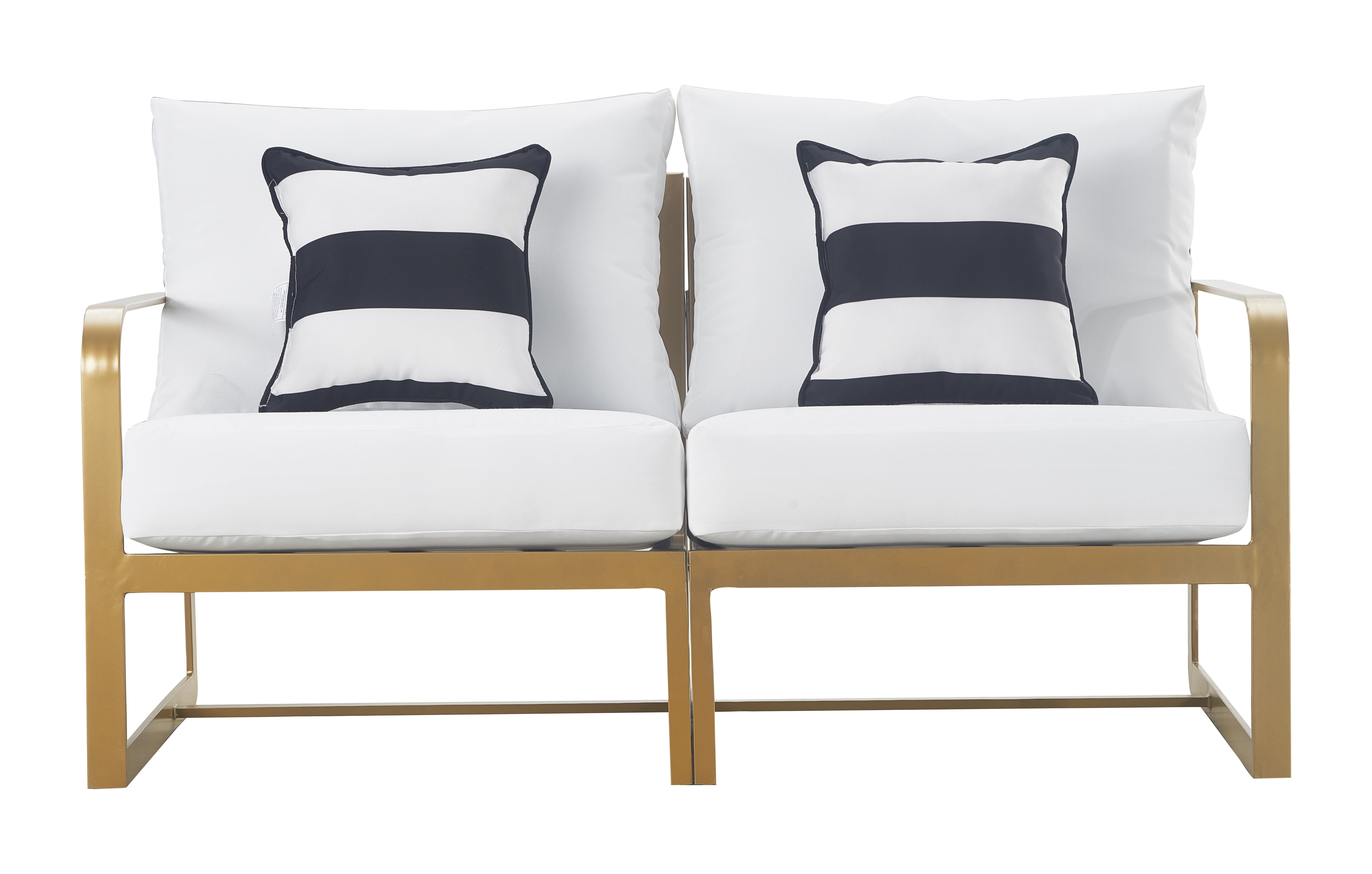 Corentin Patio Sofas For Preferred Elle Decor Mirabelle Patio Sofa With Cushion (View 3 of 20)
