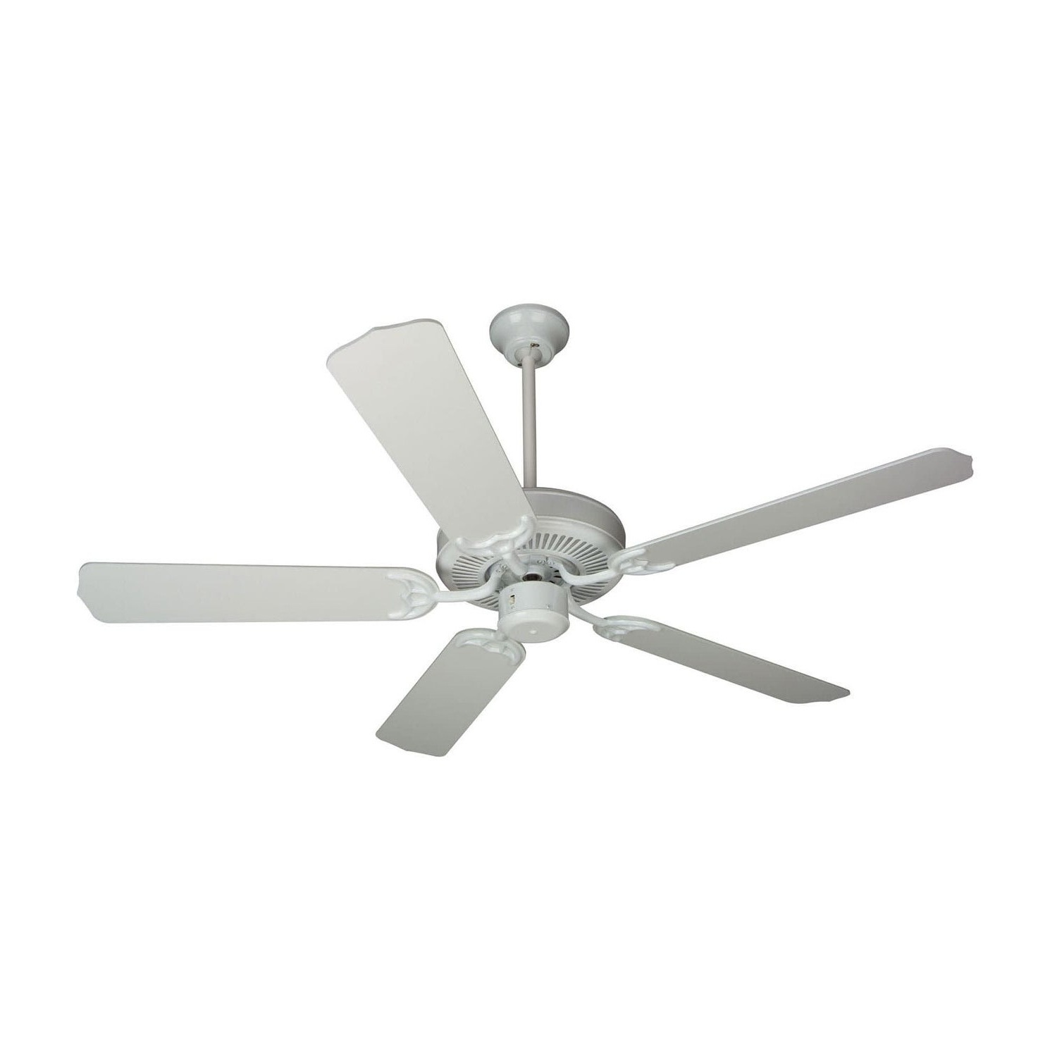 "Craftmade K10621 Contractor's Design 52"" 5 Blade Energy Star Indoor Ceiling  Fan – Blades Included With Recent Contractor 5 Blade Ceiling Fans (View 9 of 20)"