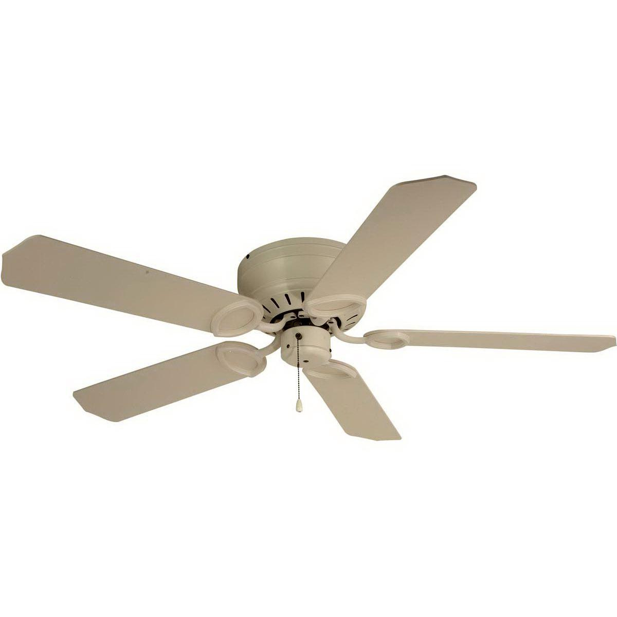 Craftmade Uh52Aw Pro Universal Hugger Ceiling Fan 52 Inch 5 With Regard To Best And Newest Dyno 5 Blade Ceiling Fans (View 6 of 20)