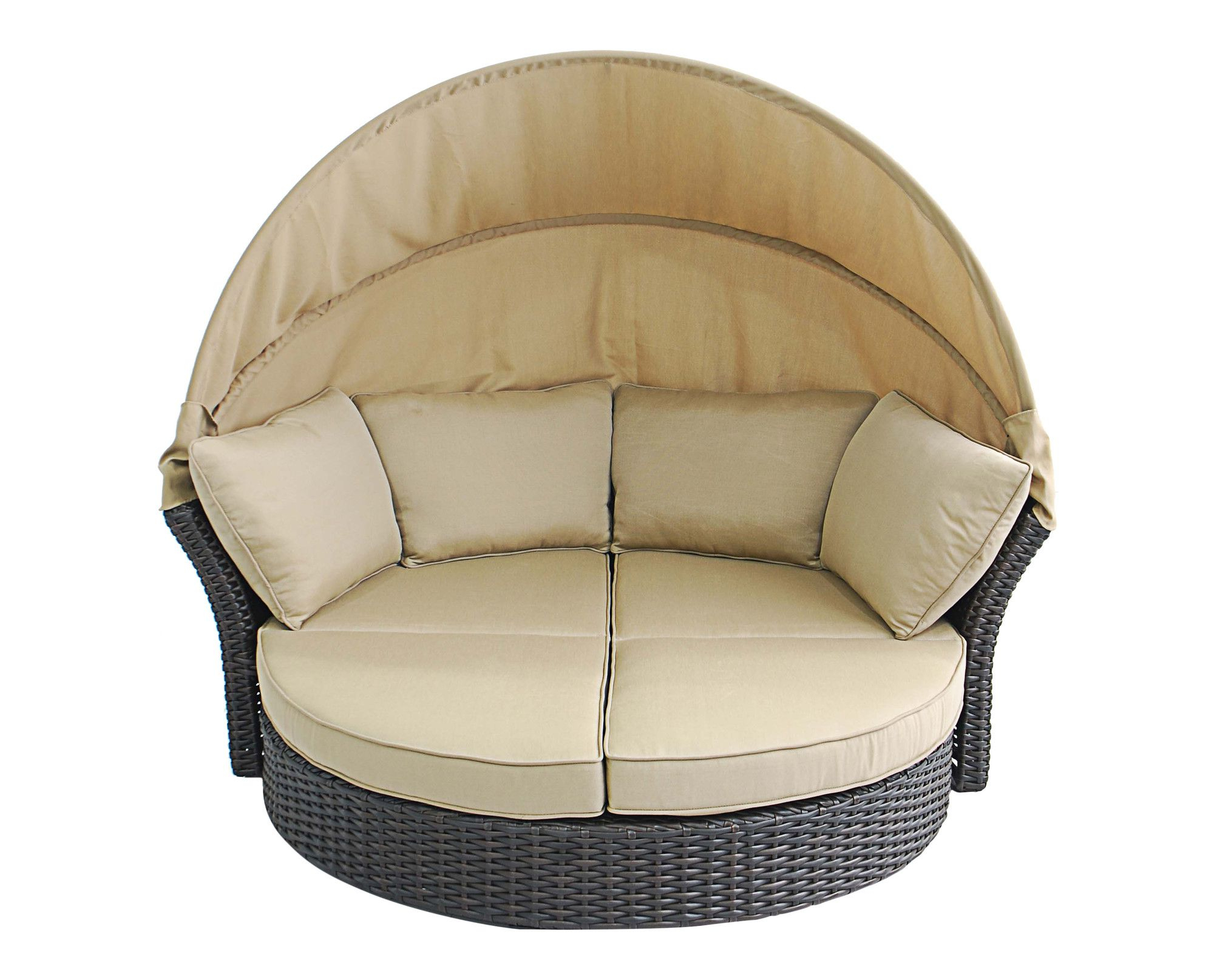 Creative Living Antigua Loveseat With Cushions & Reviews Inside Most Recent Gilbreath Daybeds With Cushions (View 8 of 20)