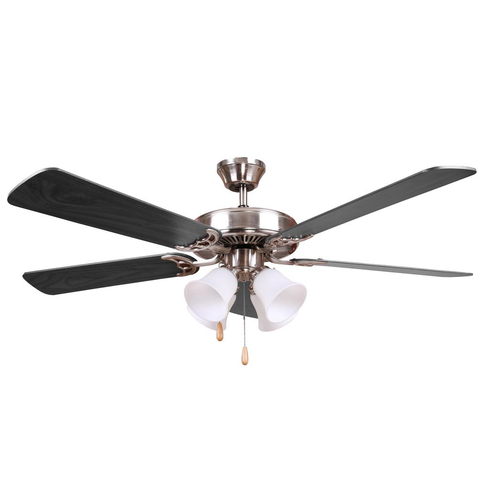Creslow 5 Blade Ceiling Fans Inside 2019 Ceiling Fan With Black Blades – Jafari Ghola (View 5 of 20)