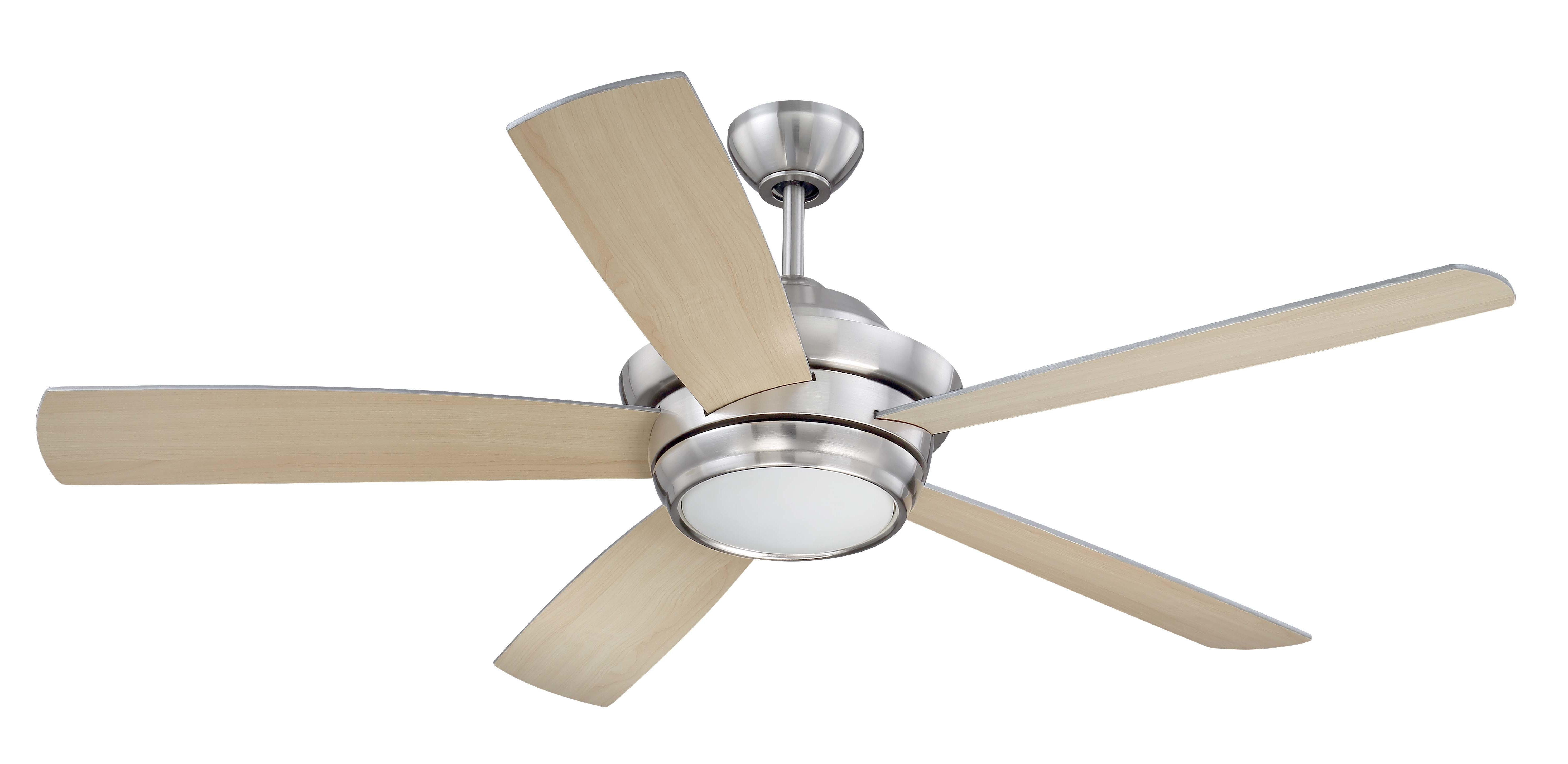 "Creslow 5 Blade Ceiling Fans With Most Up To Date 52"" Cedarton 5 Blade Ceiling Fan (View 3 of 20)"