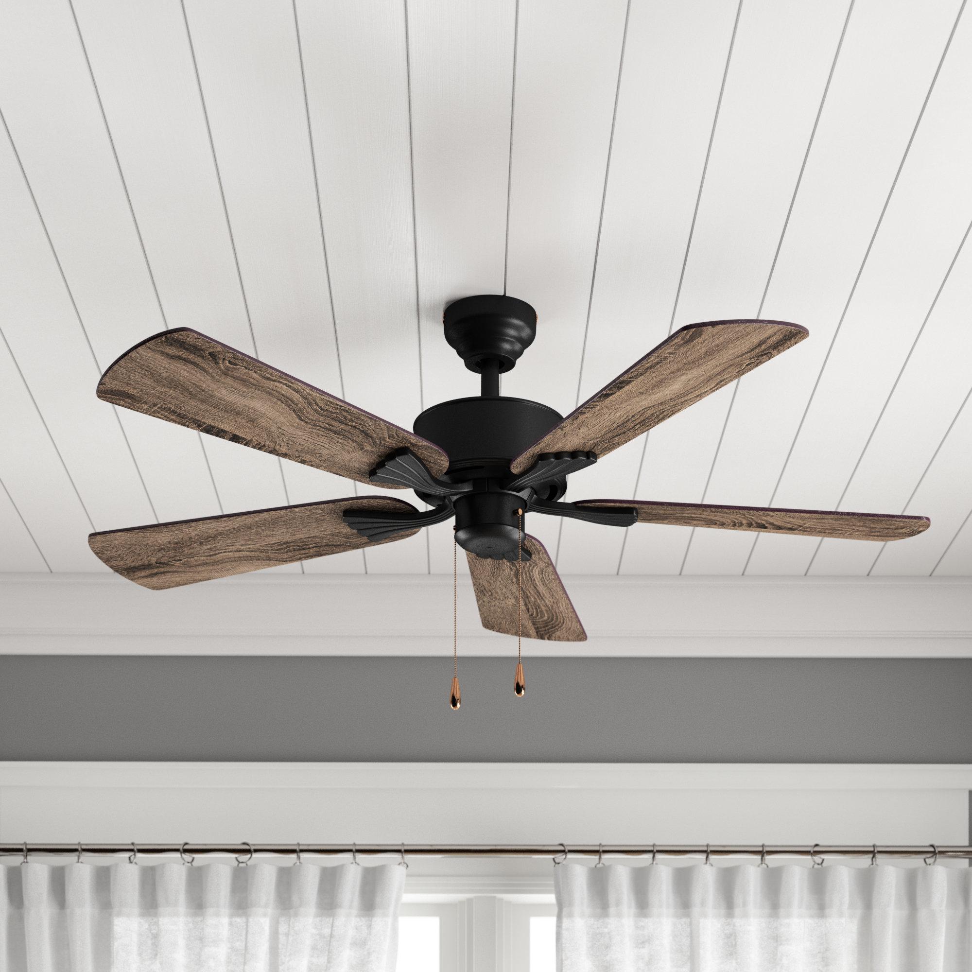 "Crestfield 5 Blade Ceiling Fans Inside Newest 52"" Ravenna 5 Blade Ceiling Fan (View 3 of 20)"