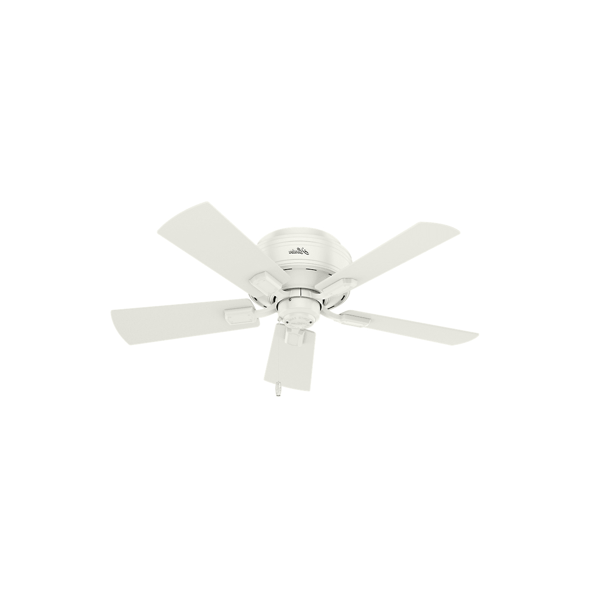 Crestfield 5 Blade Ceiling Fans Regarding Well Known Hunter Crestfield 42 Led Low Profile (View 5 of 20)