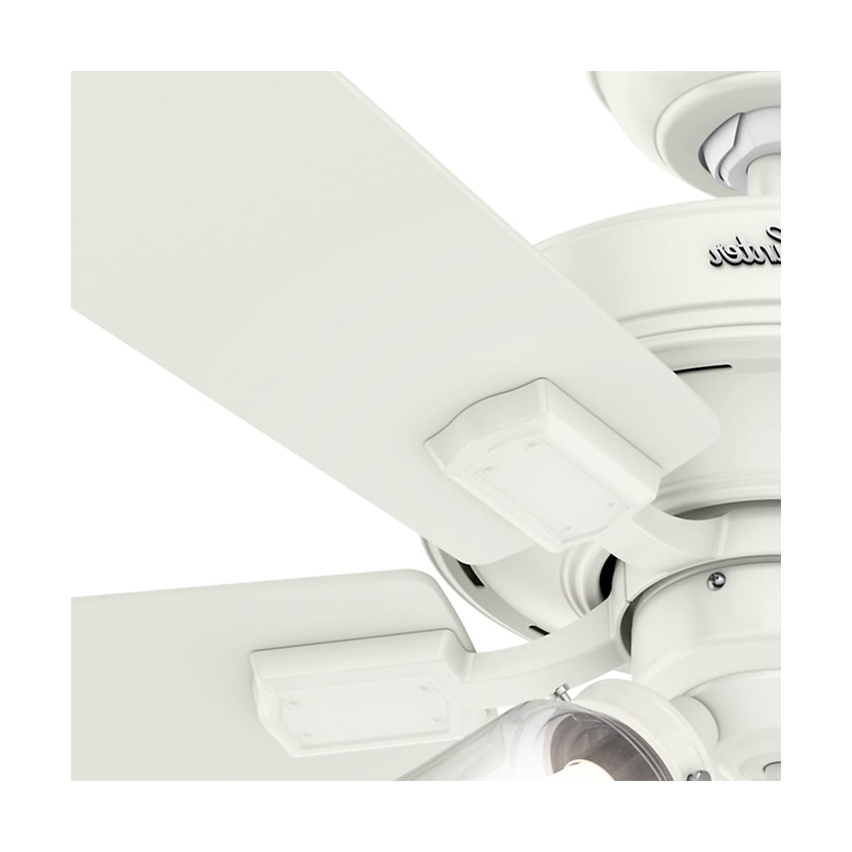 Crestfield 5 Blade Led Ceiling Fans Within 2020 Hunter Crestfield 52 Led (View 8 of 20)