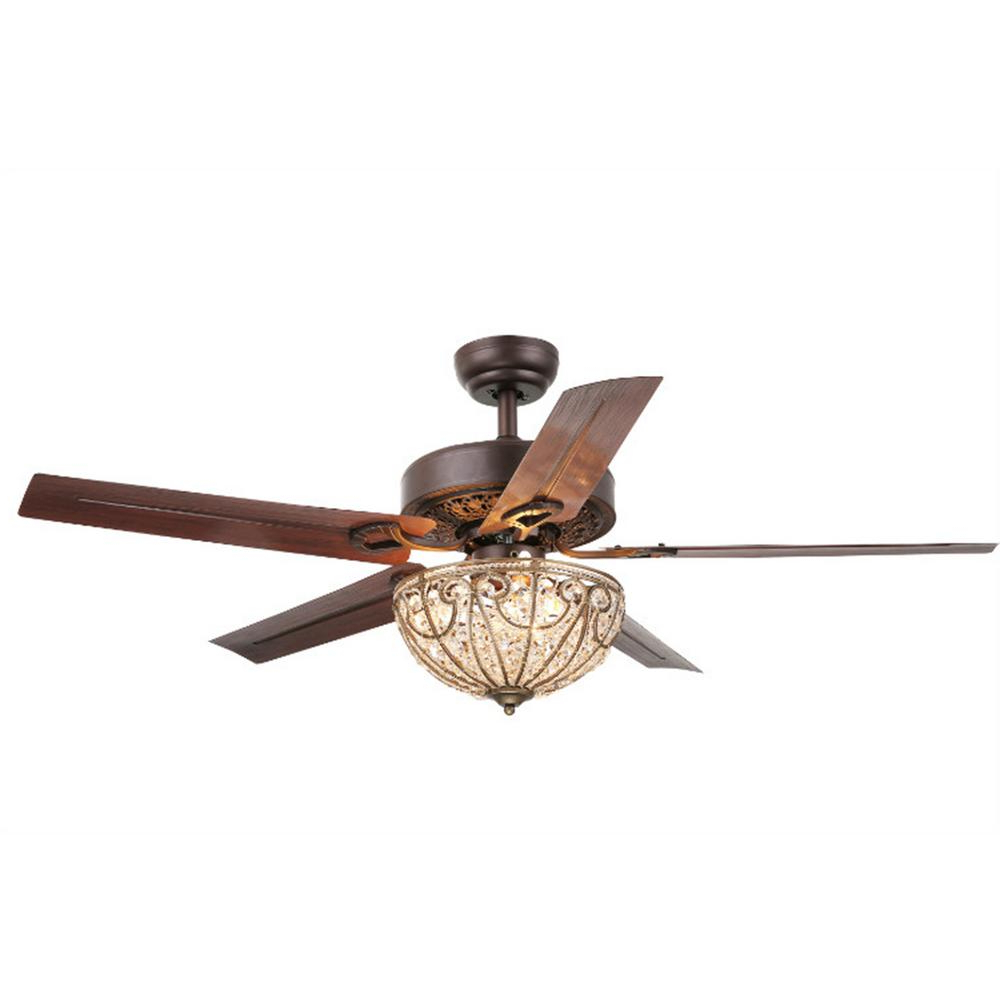 Crumbley 5 Blade Ceiling Fans With Regard To Well Known Warehouse Of Tiffany Catalina 48 In (View 13 of 20)