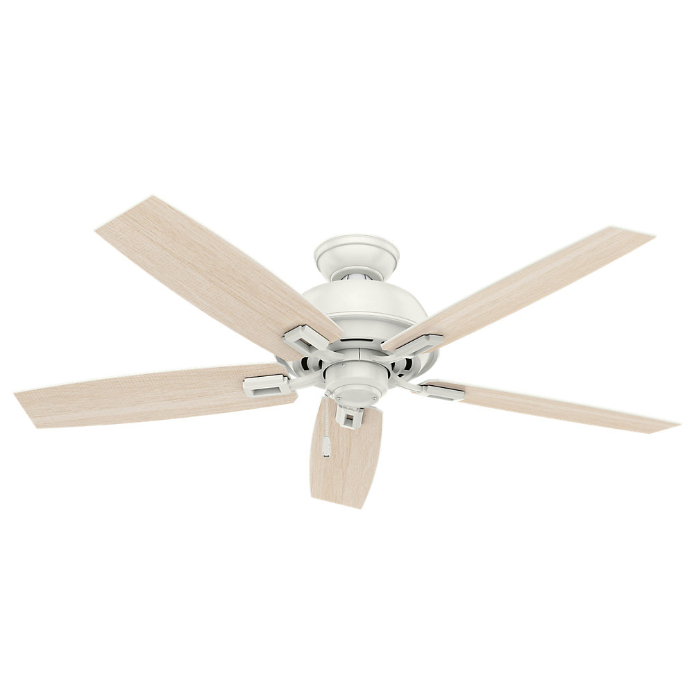 "Current 52"" Donegan 5 Blade Ceiling Fan Intended For Donegan 5 Blade Led Ceiling Fans (View 8 of 20)"