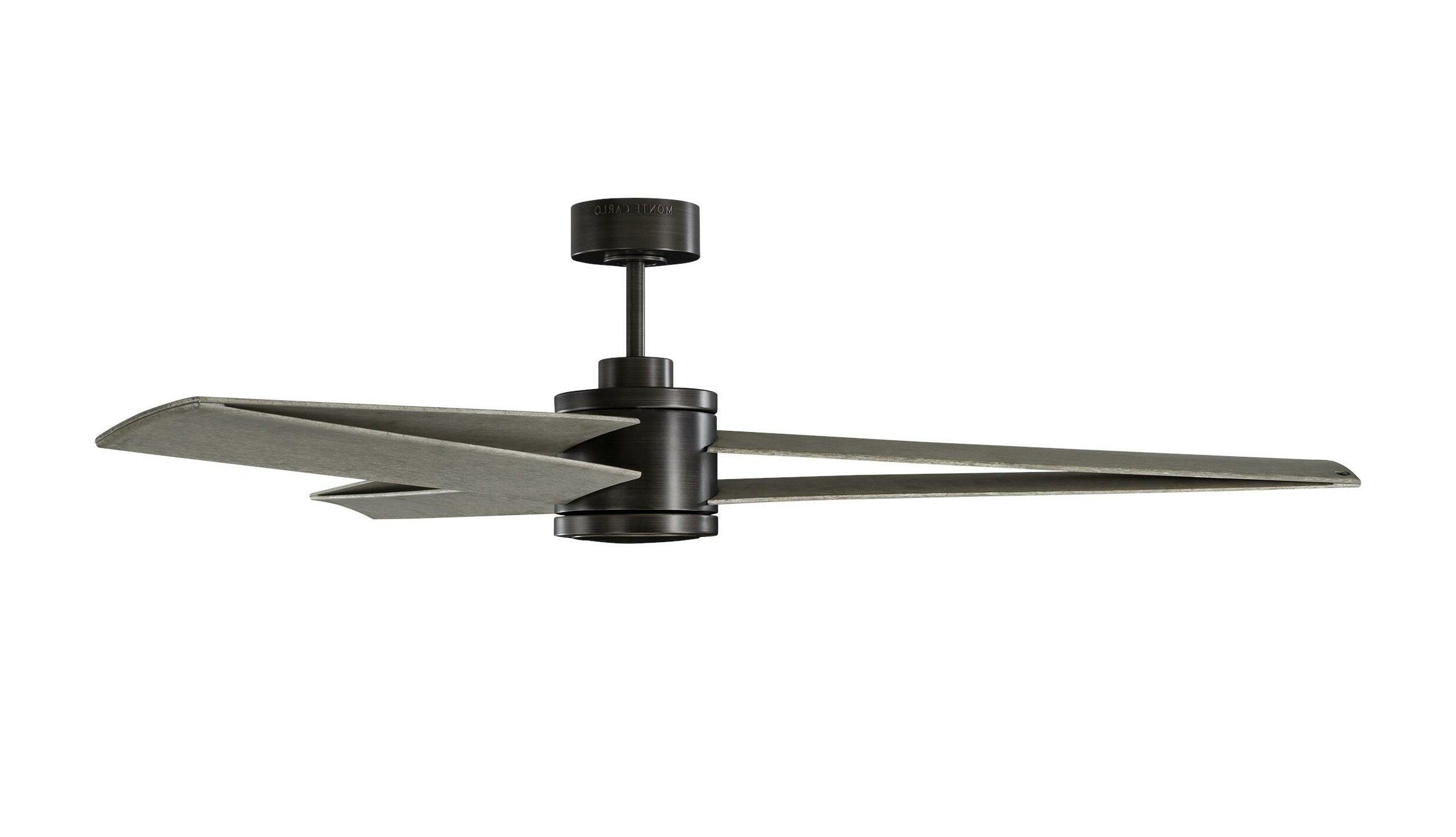 "Current 60"" Gibby 3 Blade Outdoor Led Ceiling Fan With Remote, Light With Regard To Cassius 3 Blade Outdoor Ceiling Fans (View 10 of 20)"
