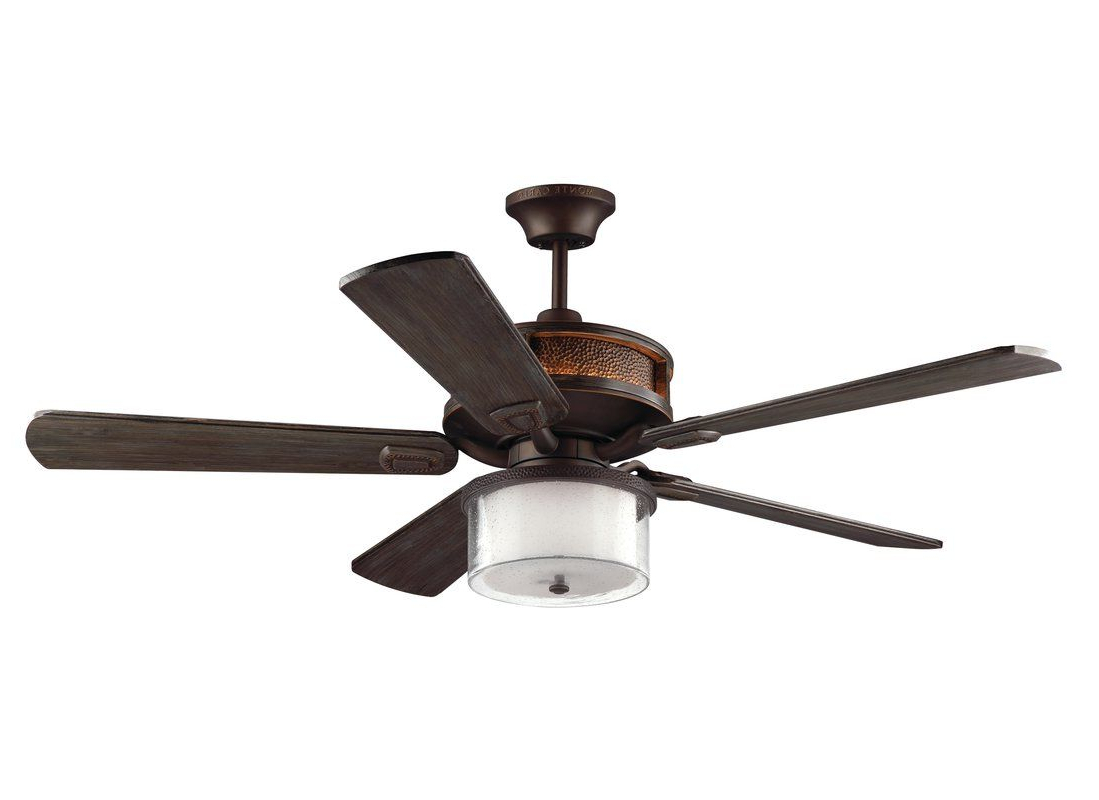"Current Birch Lane™ Heritage 52"" O'hanlon 5 Blade Led Ceiling Fan With Regard To O'hanlon 5 Blade Led Ceiling Fans (View 4 of 20)"