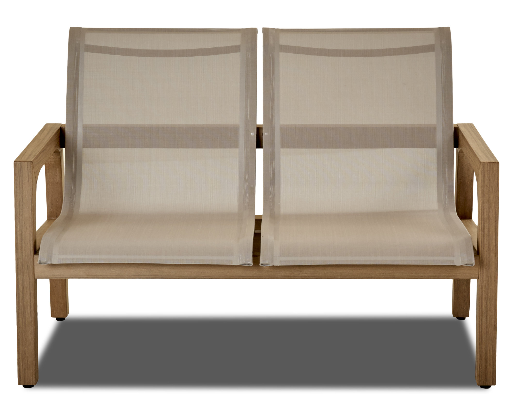 Current Calila Teak Loveseats With Cushion For Lawson Patio Teak Loveseat (View 15 of 20)