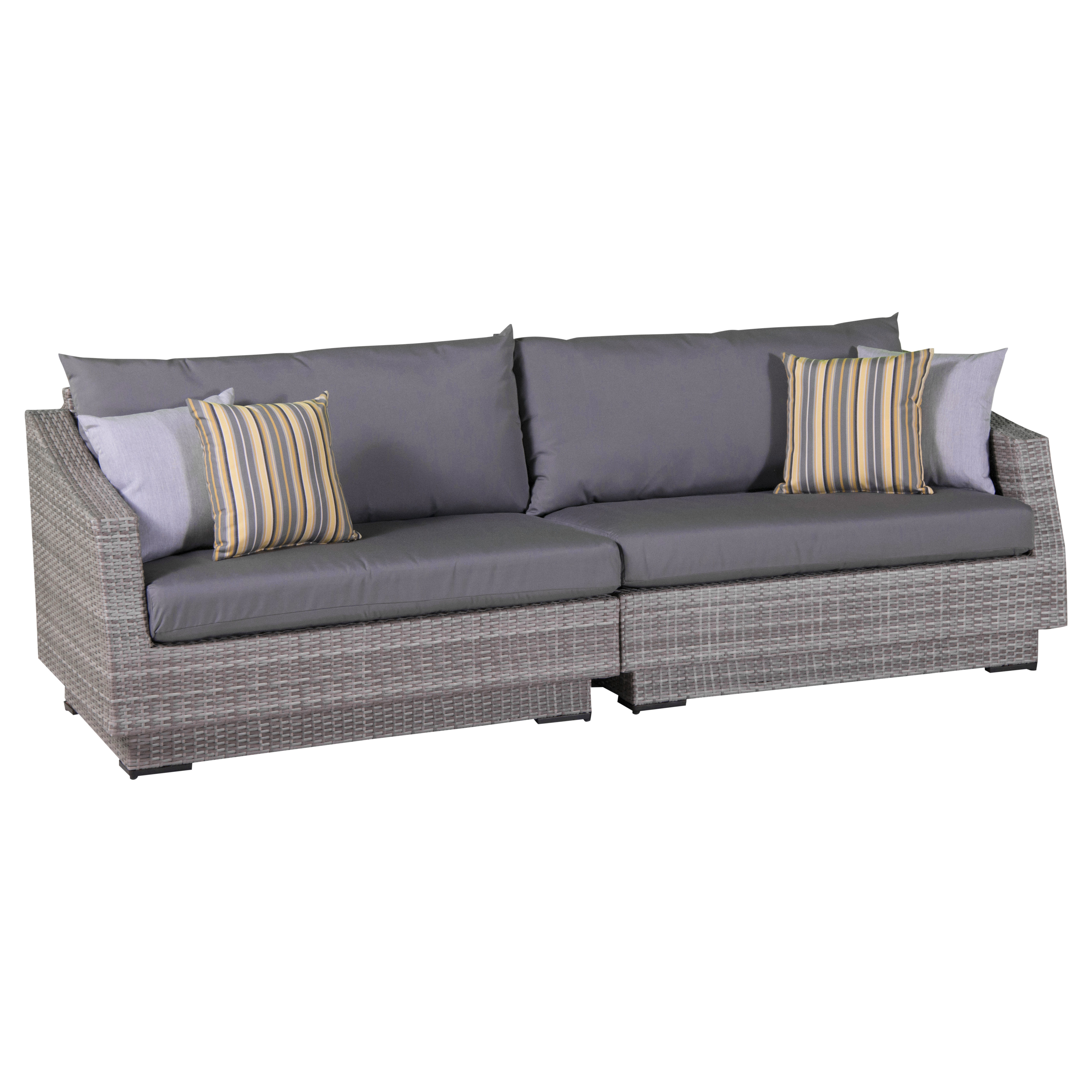 Current Castelli Patio Sofas With Sunbrella Cushions Intended For Castelli Sofa With Sunbrella Cushions (View 11 of 20)