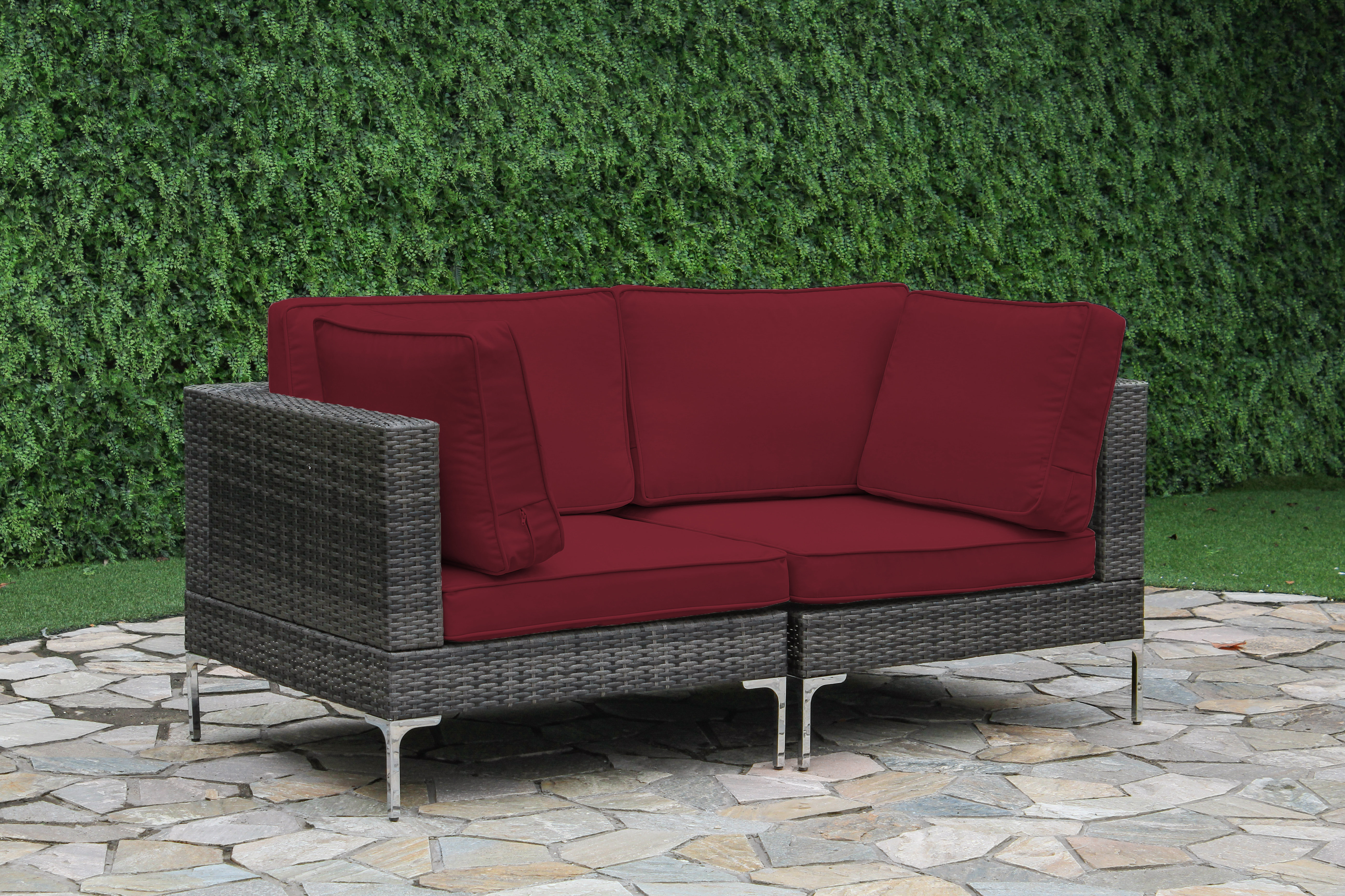 Current Enyearts Loveseat With Cushions Pertaining To Huddleson Loveseats With Cushion (View 2 of 20)