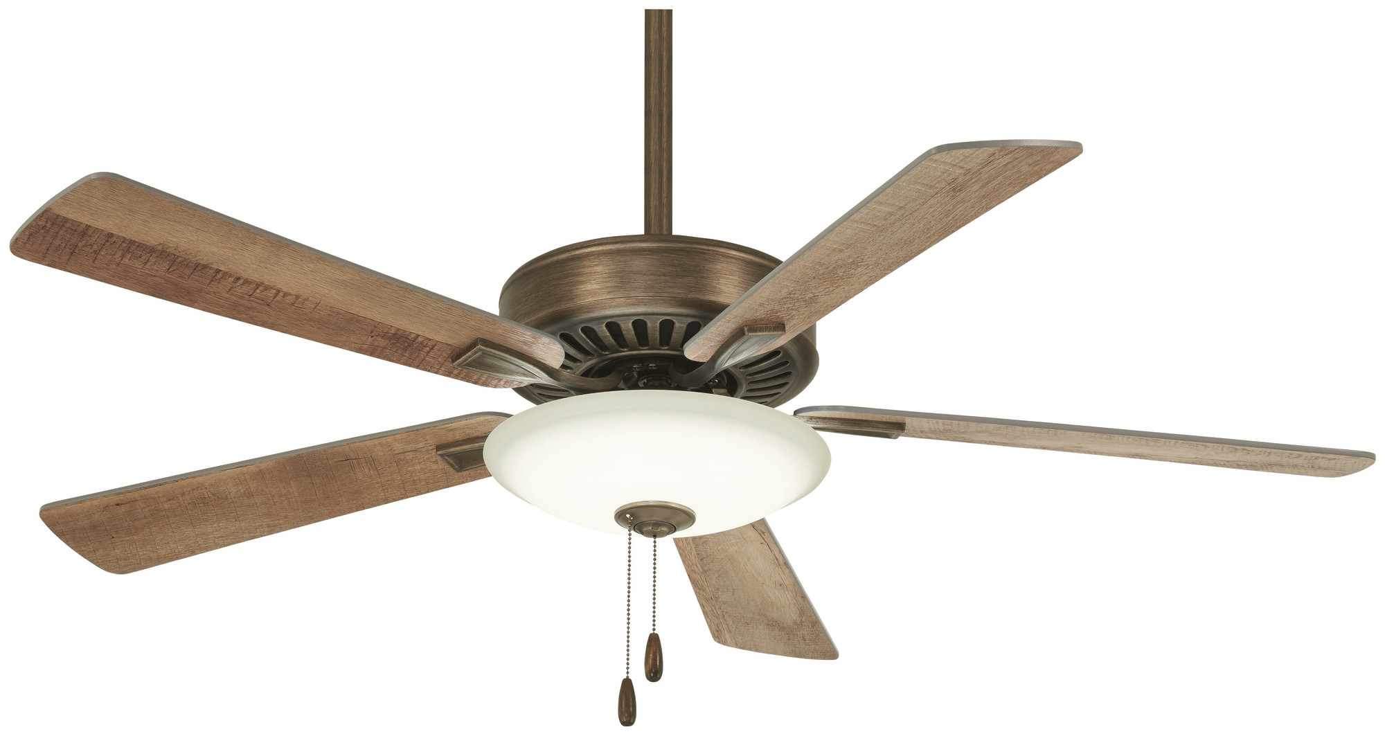 """Details About Minkaaire Contractor Uni Pack Led Contractor 52"""" 5 Blade Led Indoor Ceiling Fan With Newest Contractor 5 Blade Ceiling Fans (View 8 of 20)"""