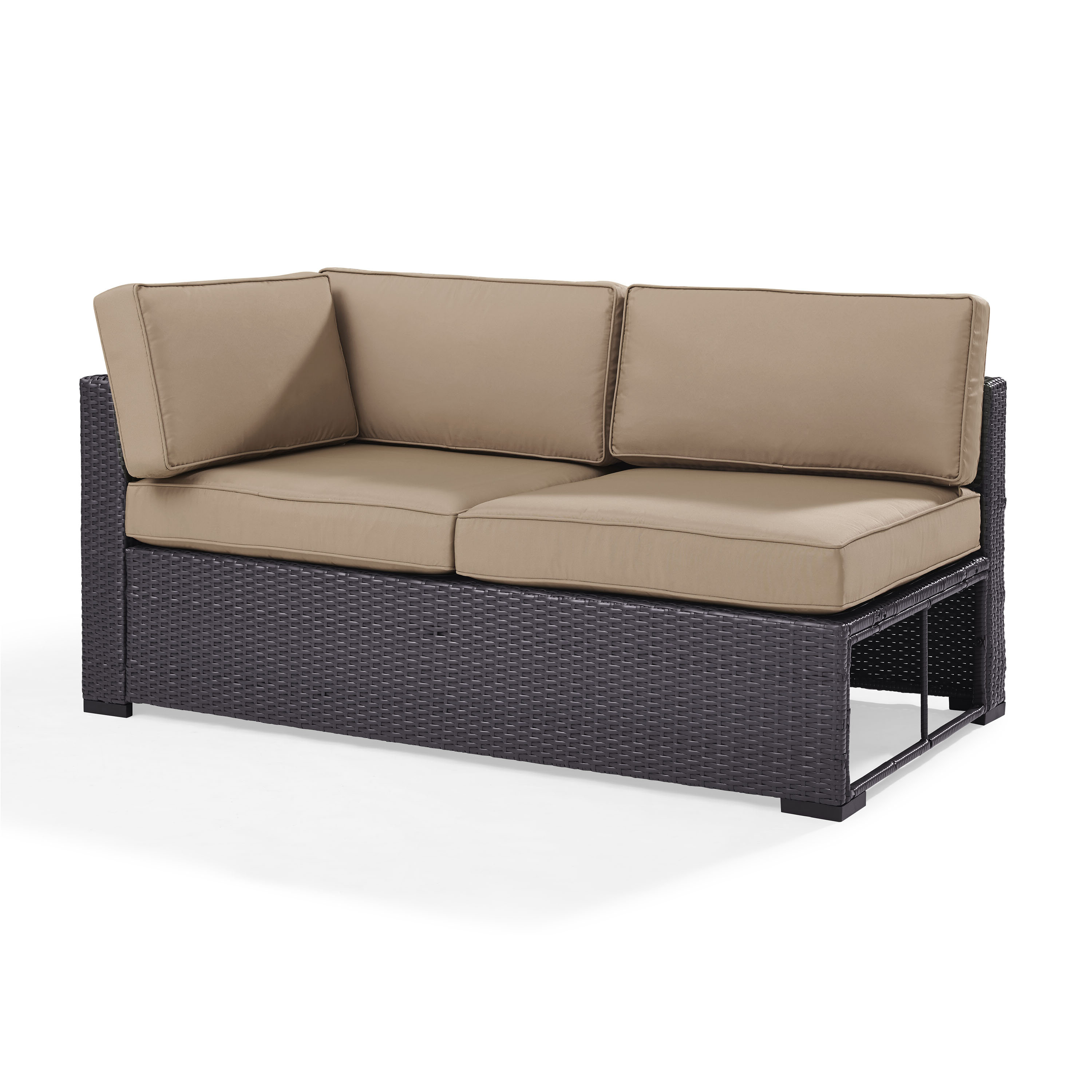 Dinah Loveseat With Cushions Intended For Well Known Mosca Patio Loveseats With Cushions (View 3 of 20)