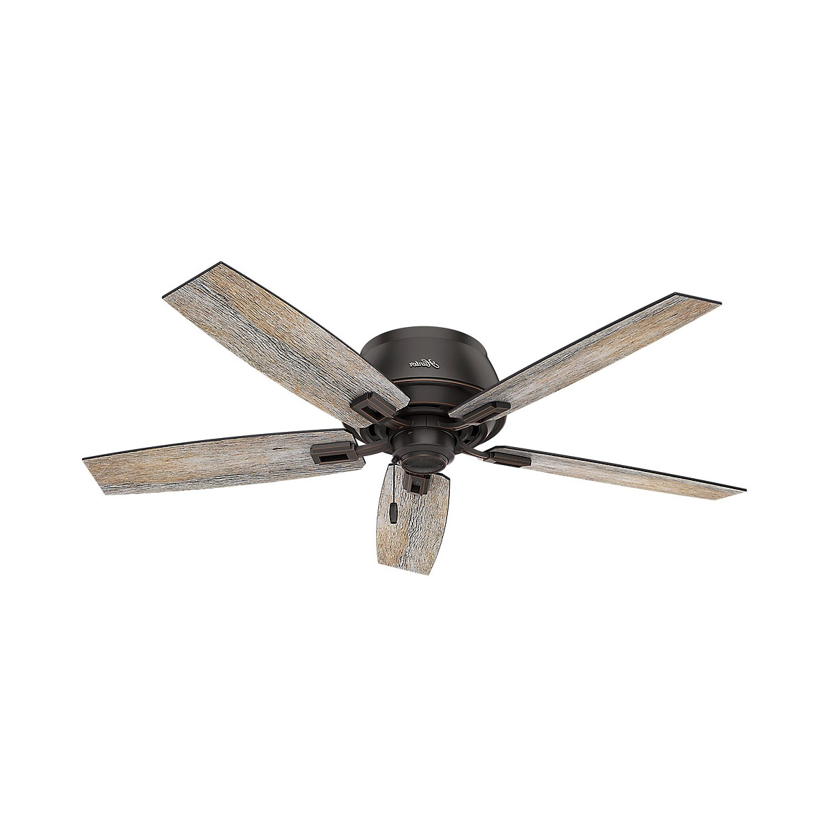 Donegan 5 Blade Ceiling Fans Pertaining To Trendy Hunter Donegan 52 Bowl Low Profile (View 6 of 20)