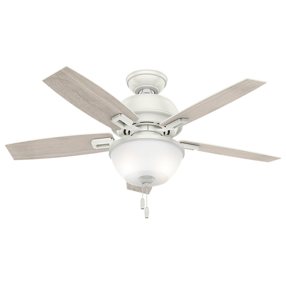 "Donegan 5 Blade Ceiling Fans Regarding Well Liked 44"" Donegan 5 Blade Ceiling Fan With Remote Control (View 8 of 20)"