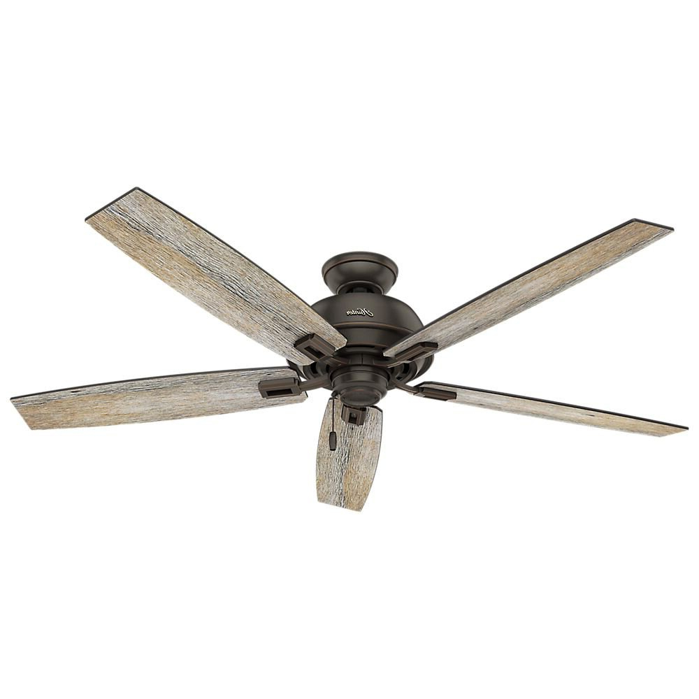 Donegan 5 Blade Led Ceiling Fans With Trendy Hunter 54170 60 In (View 17 of 20)