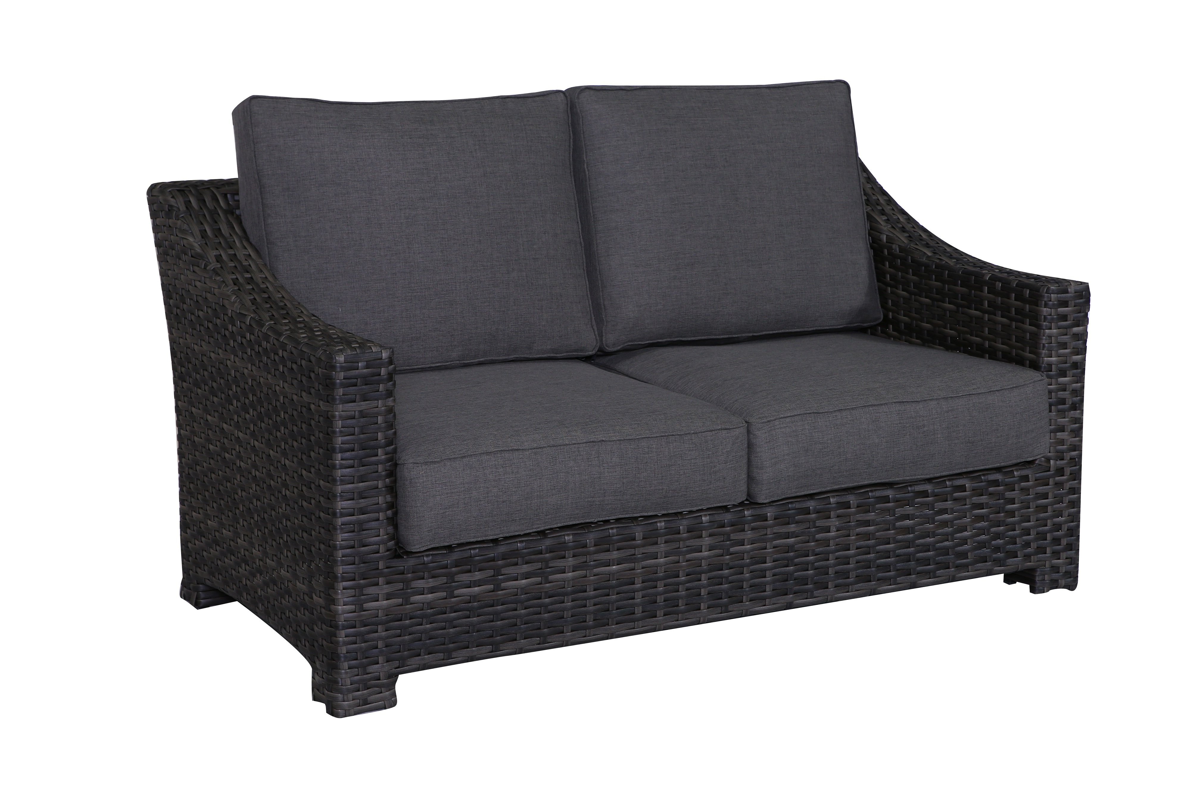 Donley Loveseat With Cushions Regarding Most Up To Date Mendelson Loveseats With Cushion (View 8 of 20)