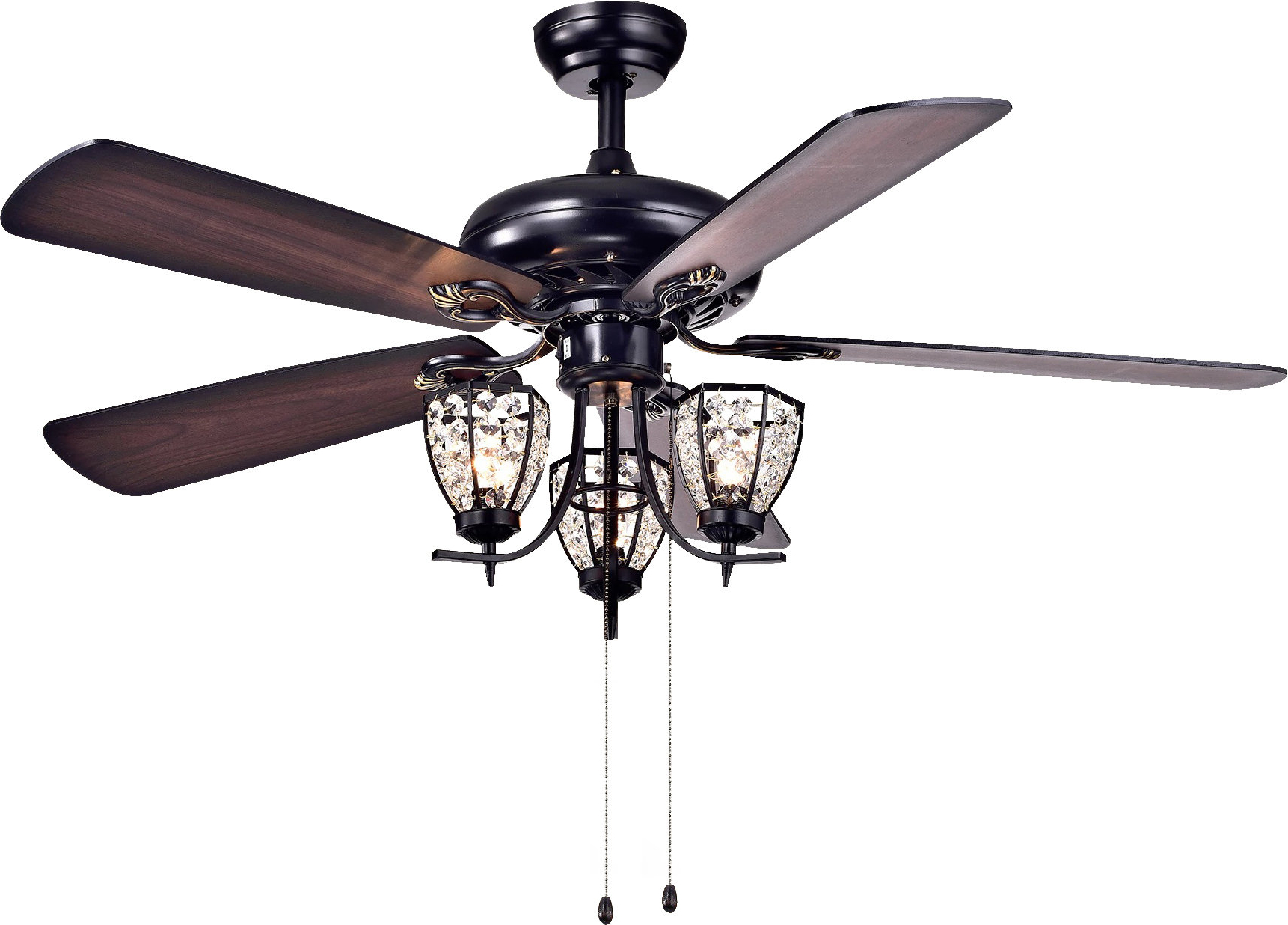 Dunaghy 5 Blade Ceiling Fans With Latest 5 Blade Ceiling Fan, Light Kit Included (View 8 of 20)