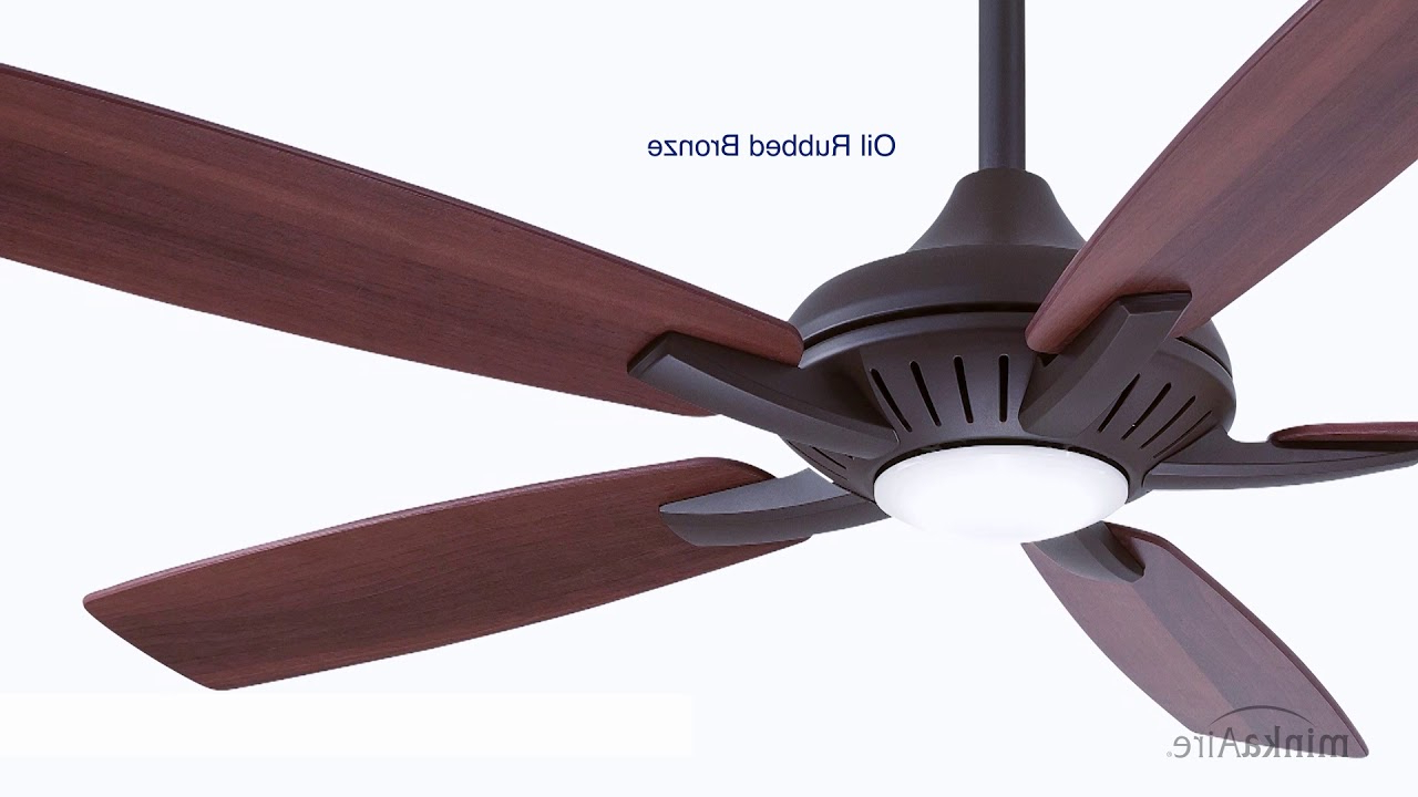 """Dyno – 52"""" Ceiling Fan With Light Kit For Popular Dyno 5 Blade Ceiling Fans (View 7 of 20)"""