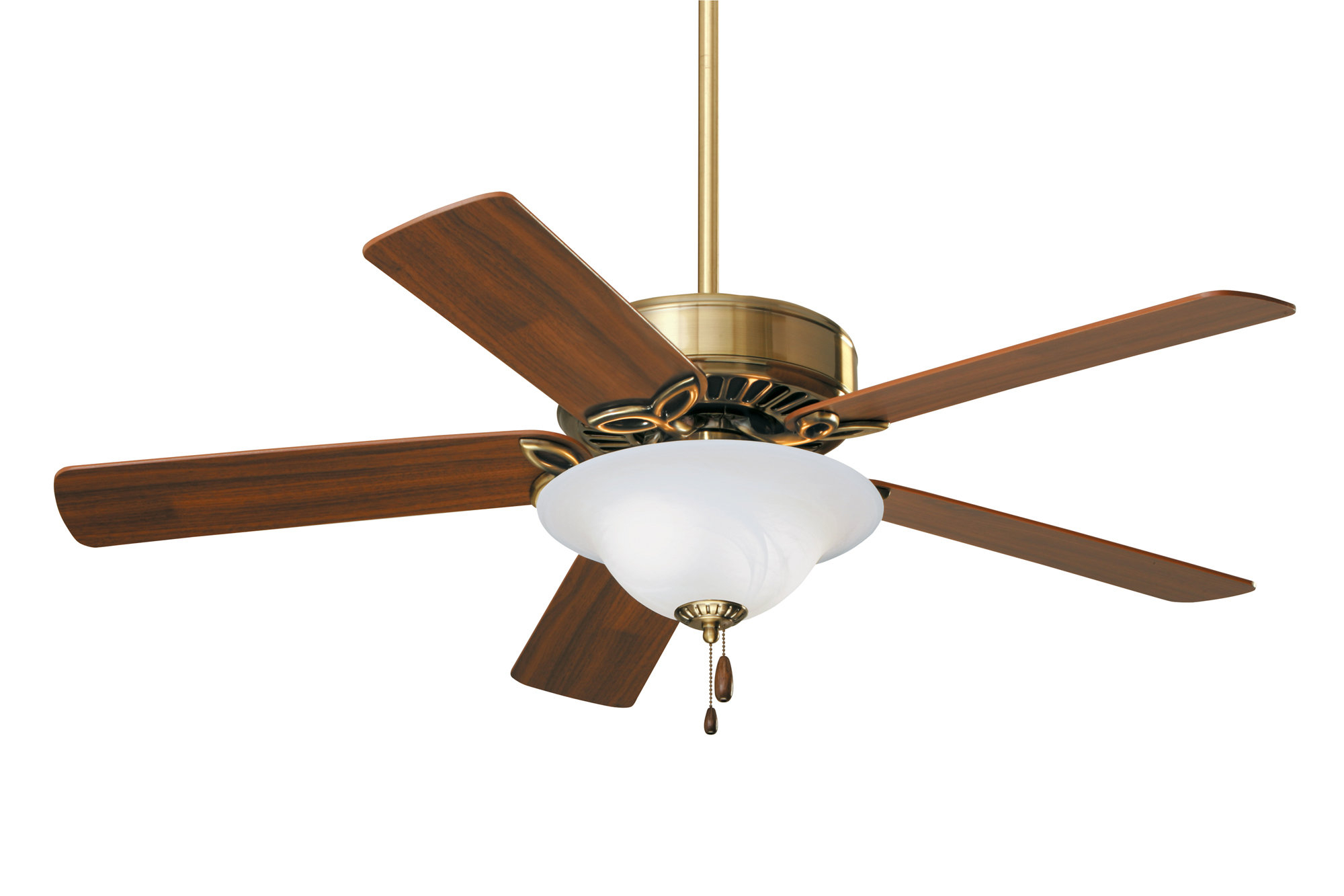 "Eliora 5 Blade Ceiling Fans For Most Current 50"" Eliora 5 Blade Ceiling Fan, Light Kit Included (View 2 of 20)"