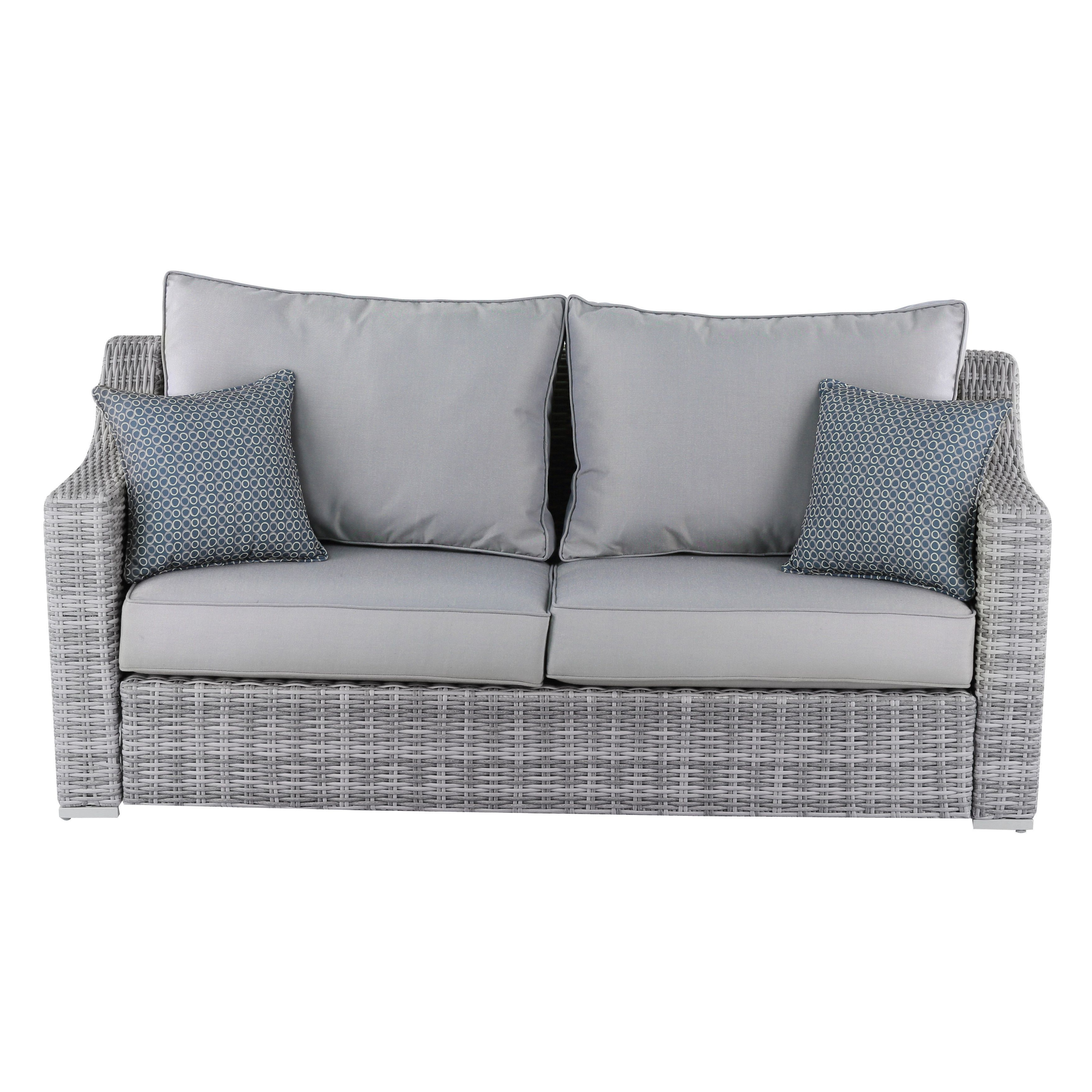Elle Decor Vallauris Outdoor Sofa (Elle Dcor Vallauris Throughout Most Recent Huddleson Loveseats With Cushion (View 13 of 20)