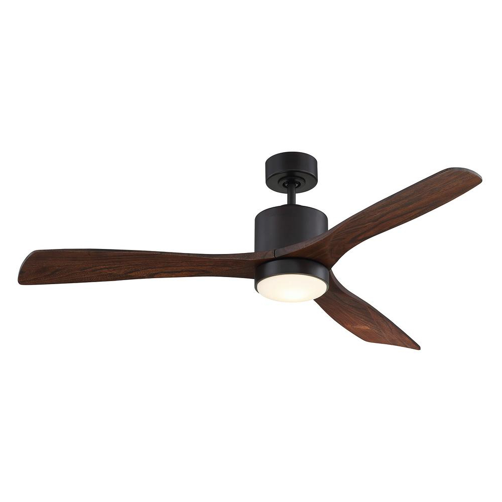 Embrace 3 Blade Ceiling Fans Intended For Most Current Filament Design 52 In (View 2 of 20)