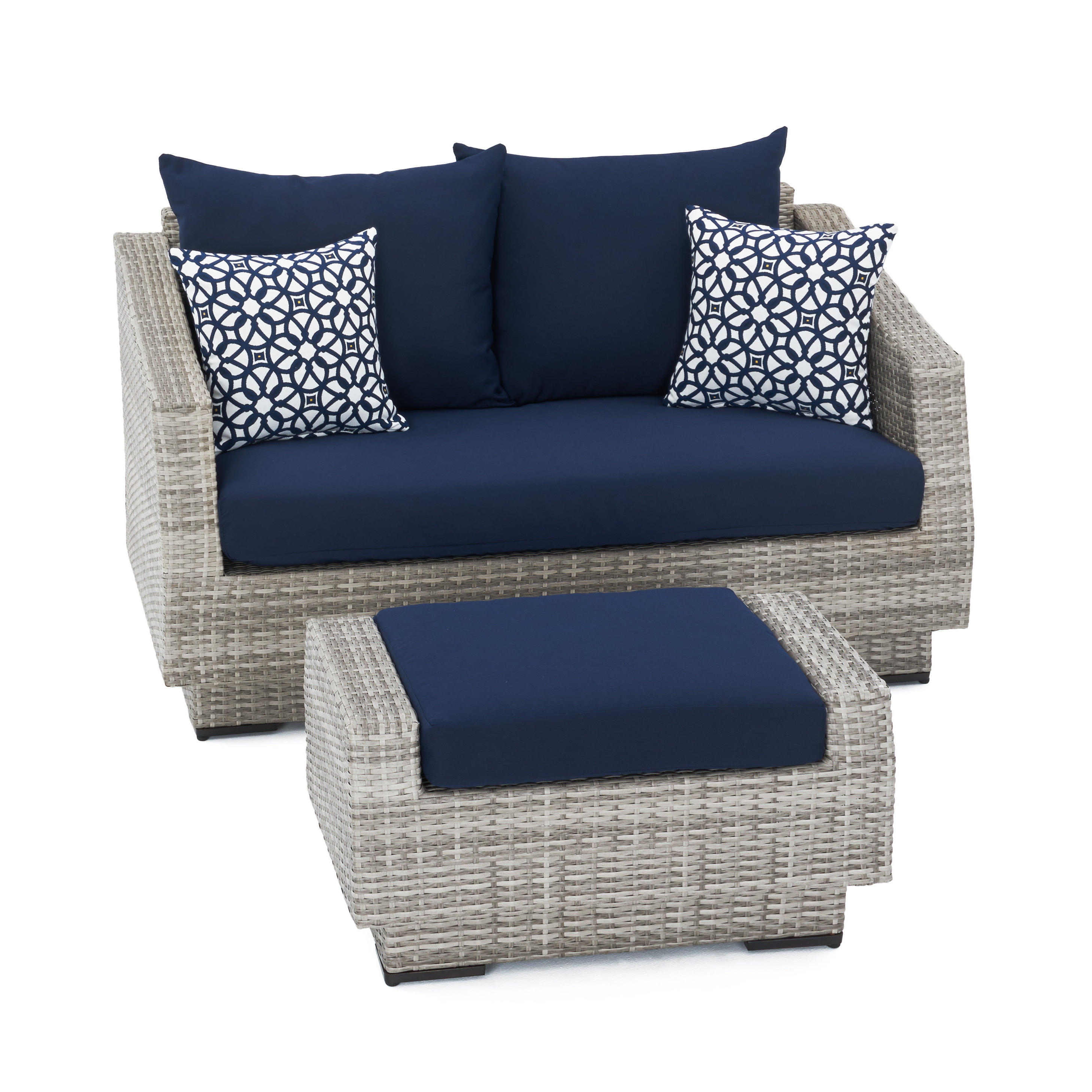 Falmouth Loveseats With Cushions With Regard To Latest Castelli Loveseat With Cushions (View 8 of 20)