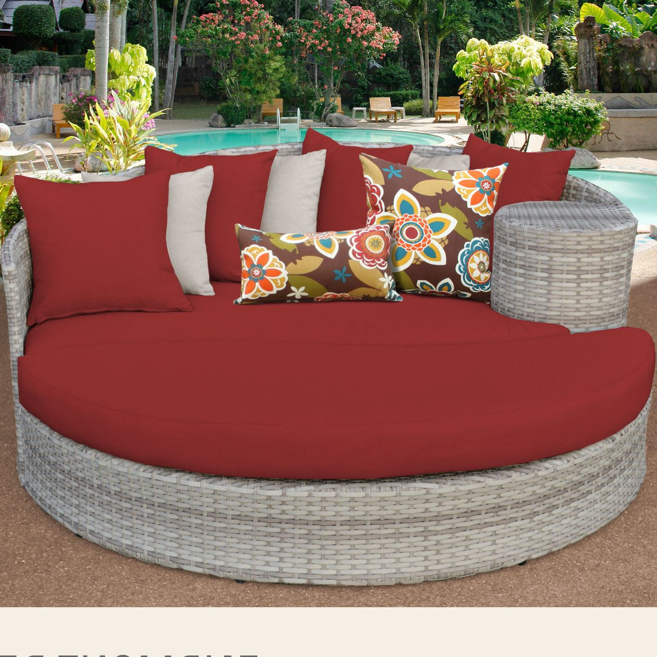 Falmouth Patio Daybeds With Cushions Intended For Trendy Fairmont Daybed With Cushions (View 4 of 20)