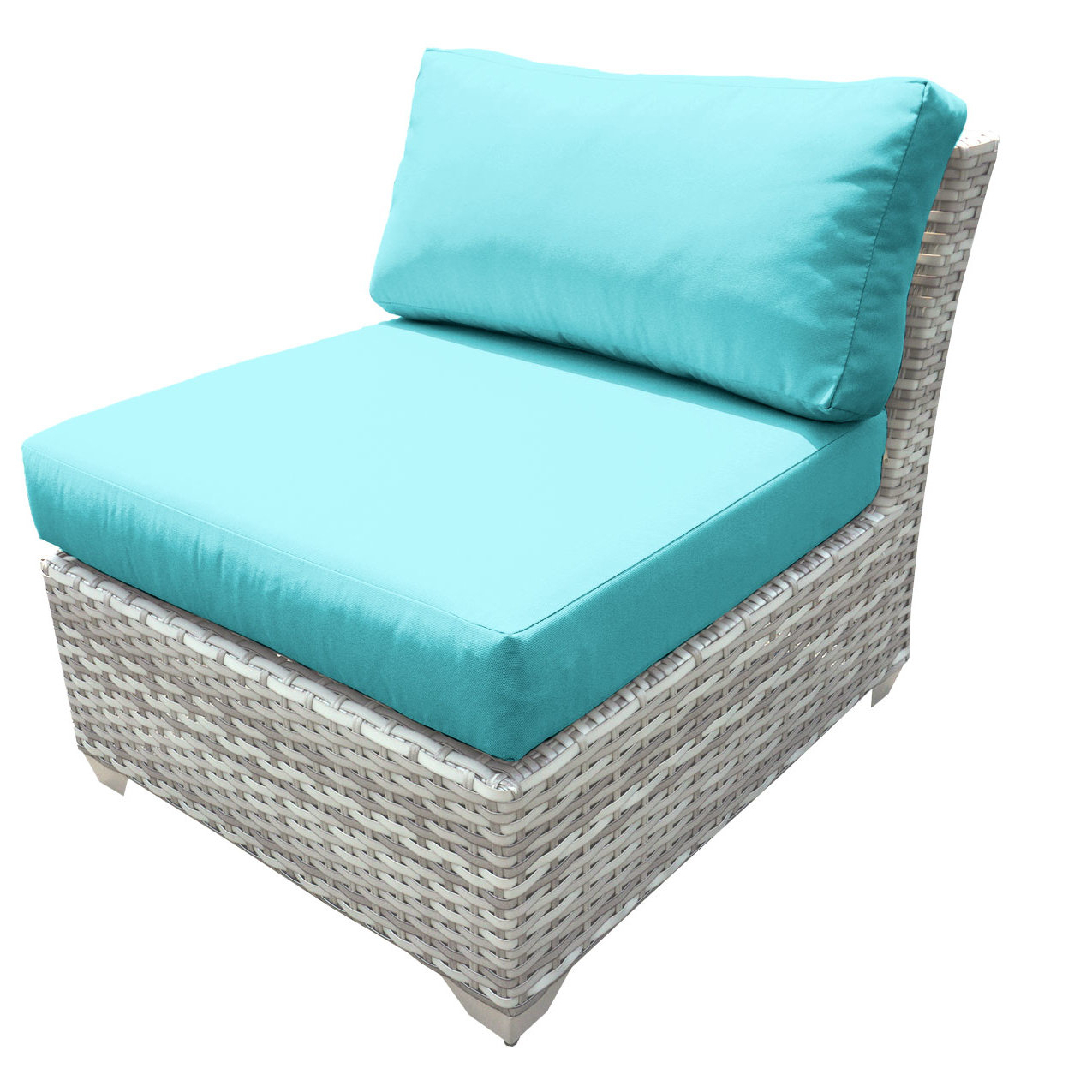 Falmouth Patio Sofas With Cushions With Regard To Trendy Falmouth Armless Patio Chair With Cushions (View 11 of 20)