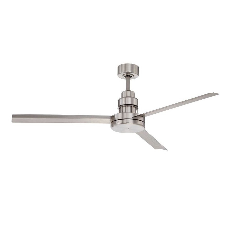 """Famous Aube 54"""" 3 Blade Ceiling Fan With Remote Inside Defelice 3 Blade Ceiling Fans (View 8 of 20)"""