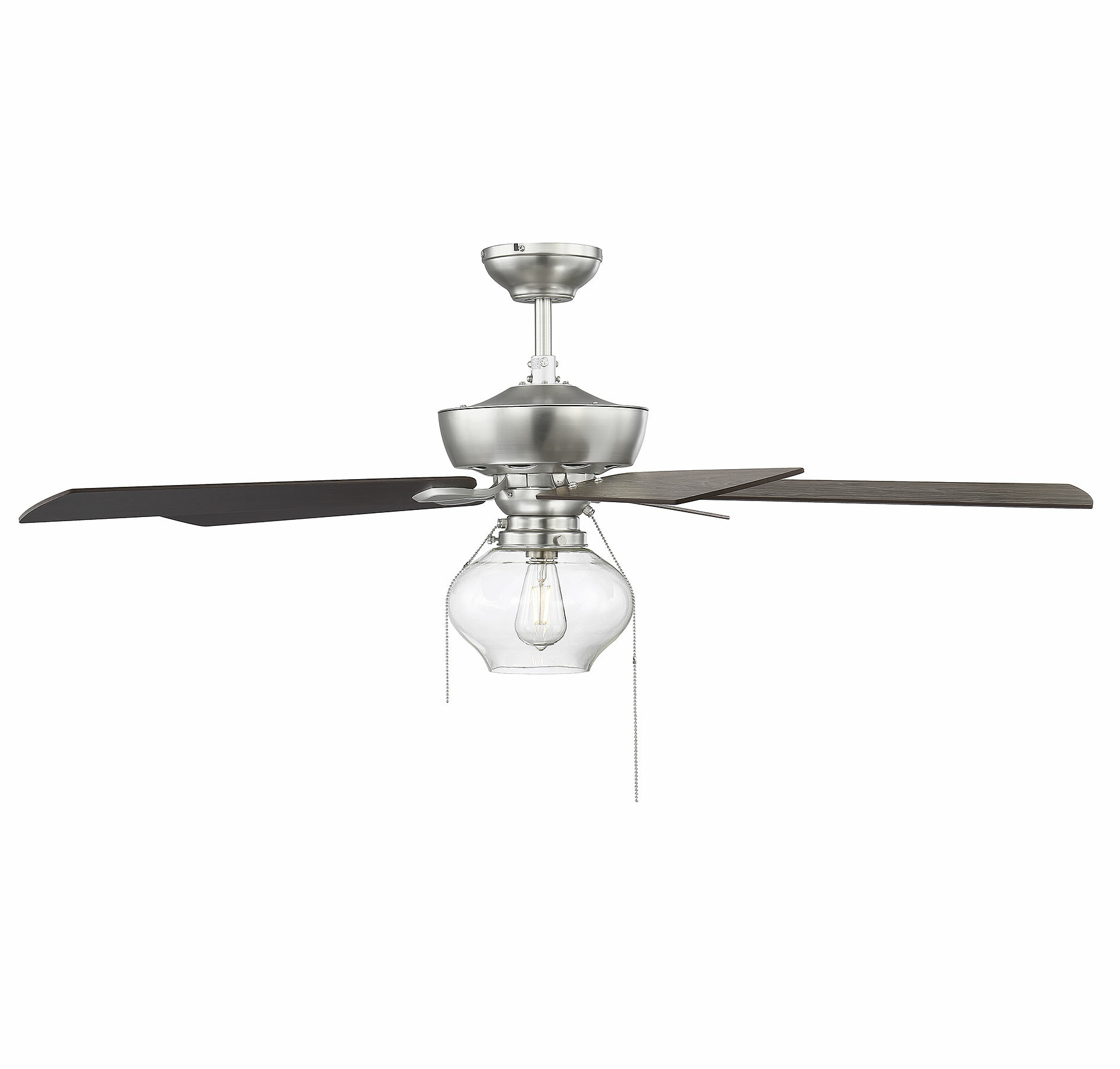 "Famous Glenpool 5 Blade Ceiling Fans Pertaining To 52"" Lundy 5 Blade Ceiling Fan, Light Kit Included (View 18 of 20)"