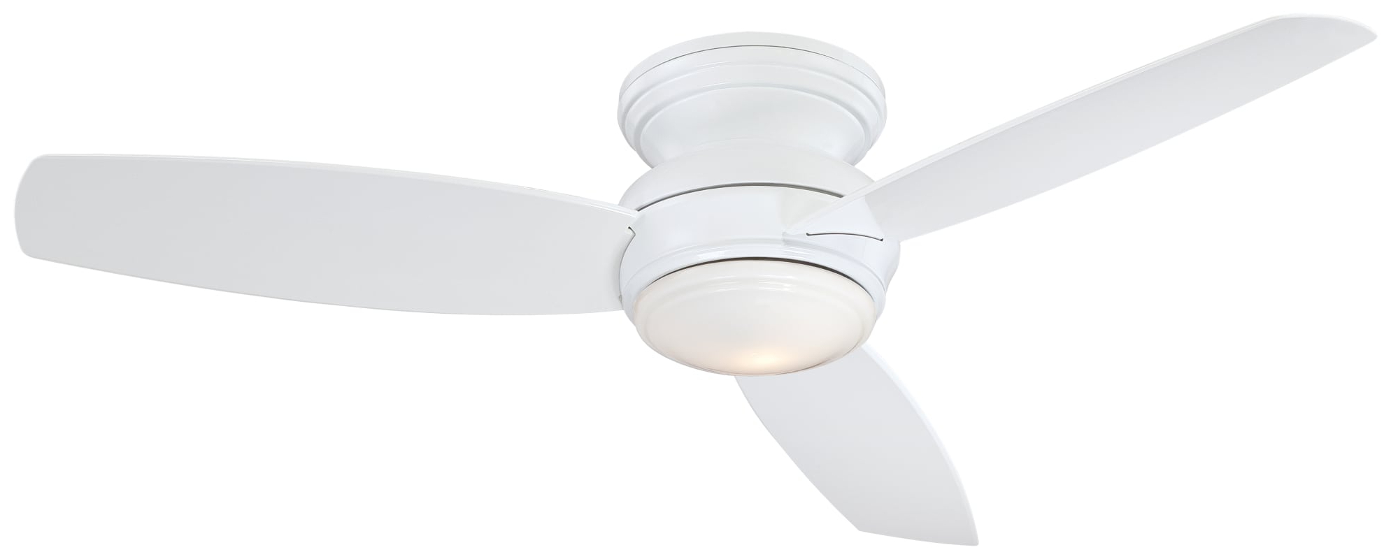 "Famous Minkaaire Traditional Concept 52 Led 3 Blade 52"" Flush Mount In Concept 3 Blade Led Ceiling Fans (View 13 of 20)"
