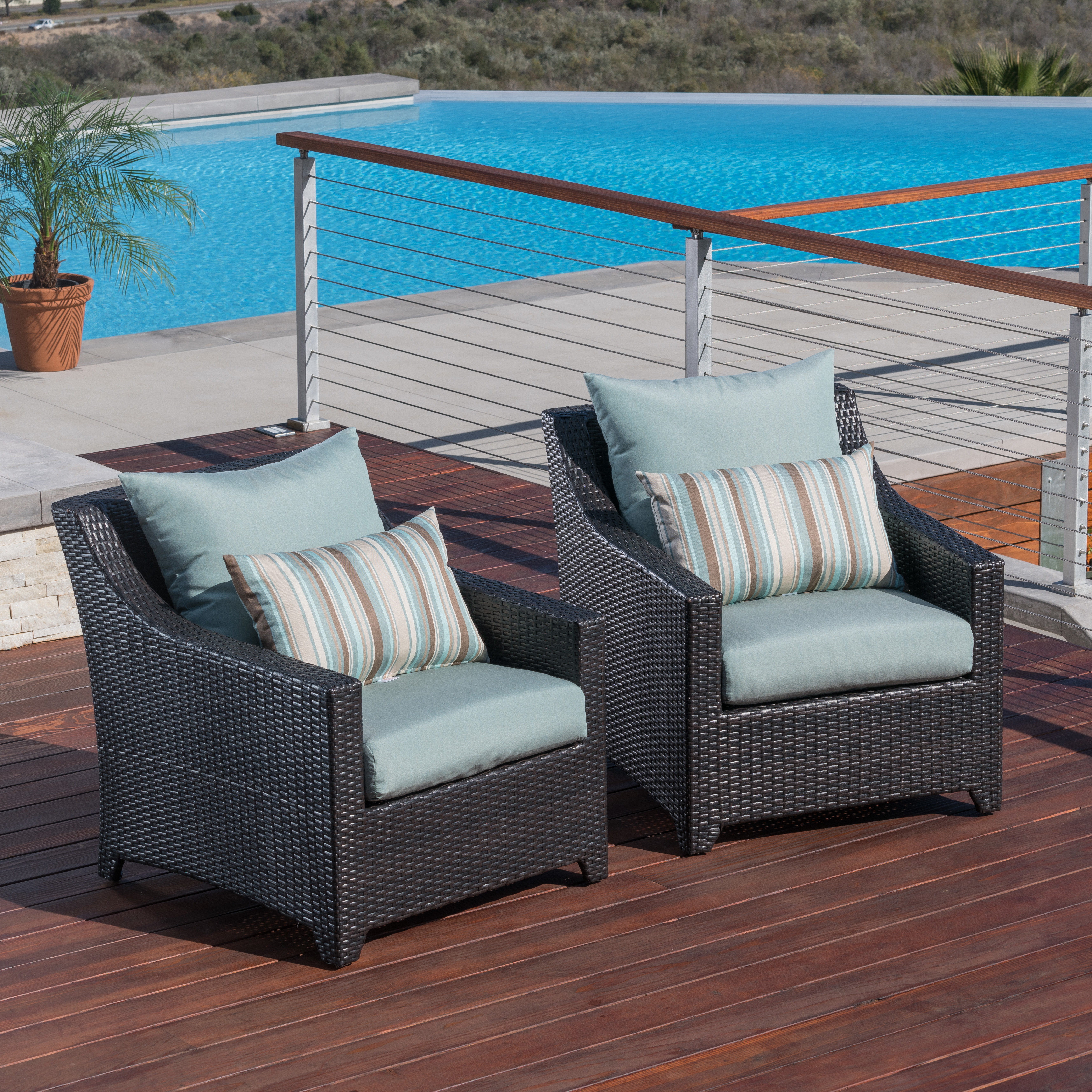 Famous Northridge Patio Sofas With Sunbrella Cushions Regarding Northridge Patio Chair With Cushions (View 3 of 20)