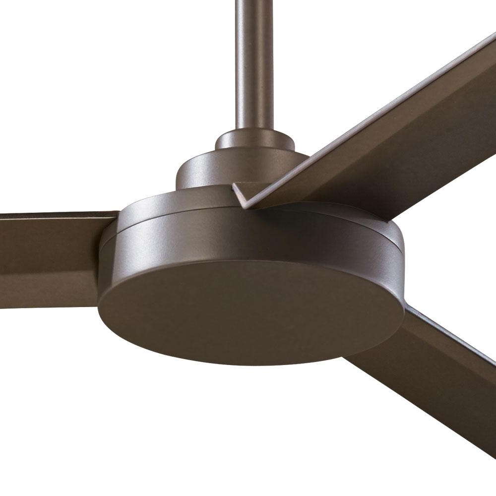 Famous Roto 3 Blade Ceiling Fans Inside Minka Aire Roto Xl 62 In (View 13 of 20)