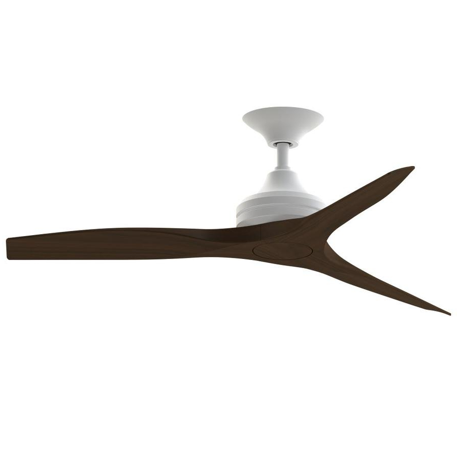 Fanimation Spitfire 48 In Matte White Indoor/outdoor Ceiling Intended For Newest Spitfire 3 Blade Ceiling Fans (View 16 of 20)