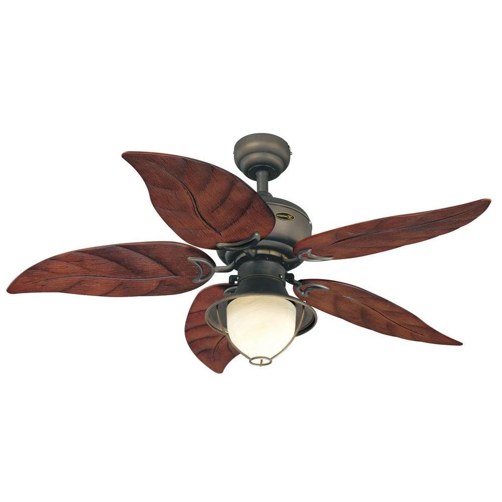 """Fashionable 48"""" Maliyah 5 Reversible Blade Ceiling Fan Intended For Bayview 5 Blade Ceiling Fans (View 10 of 20)"""