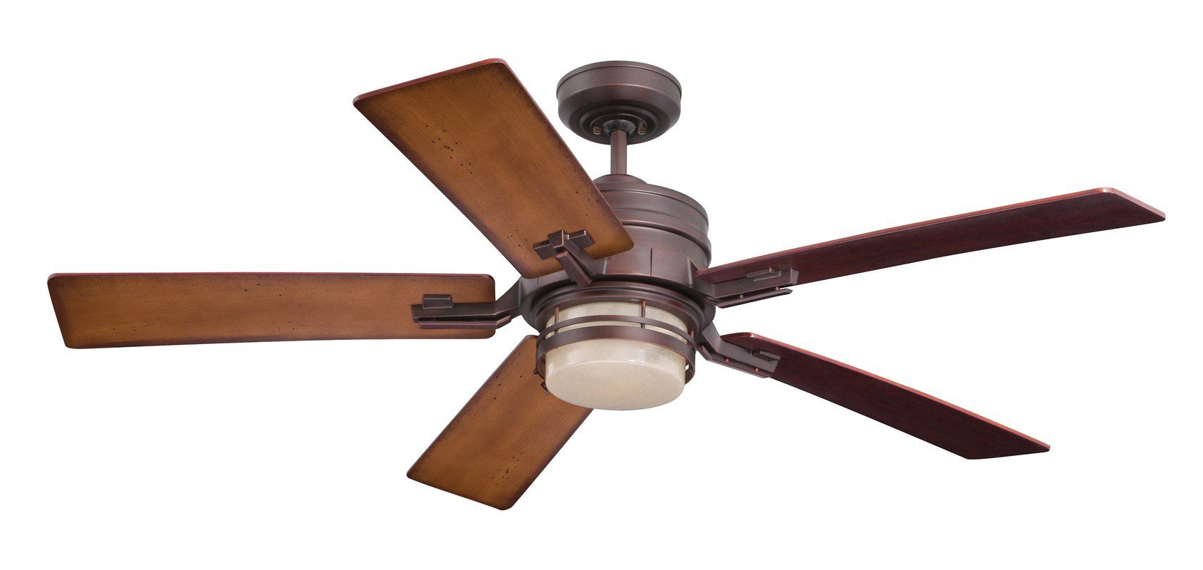 "Fashionable Acero Retro 3 Blade Led Ceiling Fans With 54"" Issac 5 Blade Led Ceiling Fan In (View 9 of 20)"