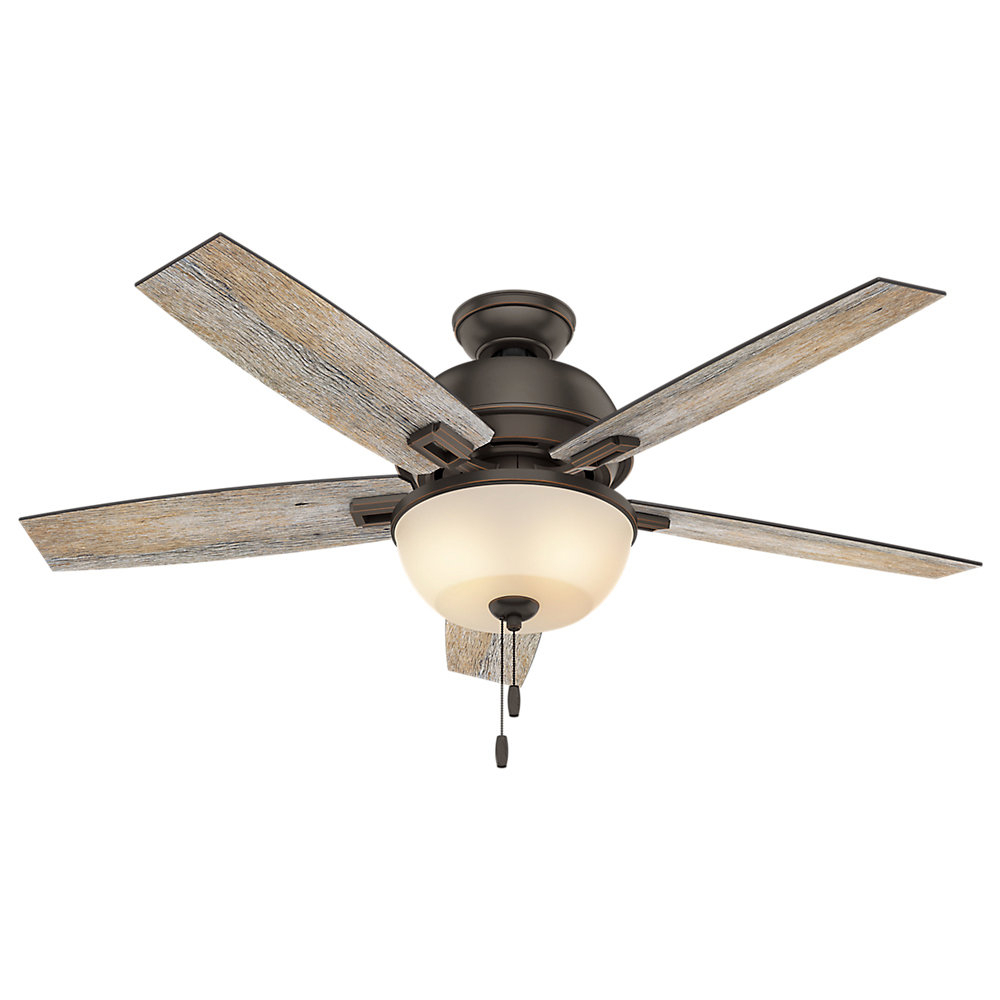 "Fashionable Donegan 5 Blade Ceiling Fans With 52"" Donegan 5 Blade Ceiling Fan (View 11 of 20)"