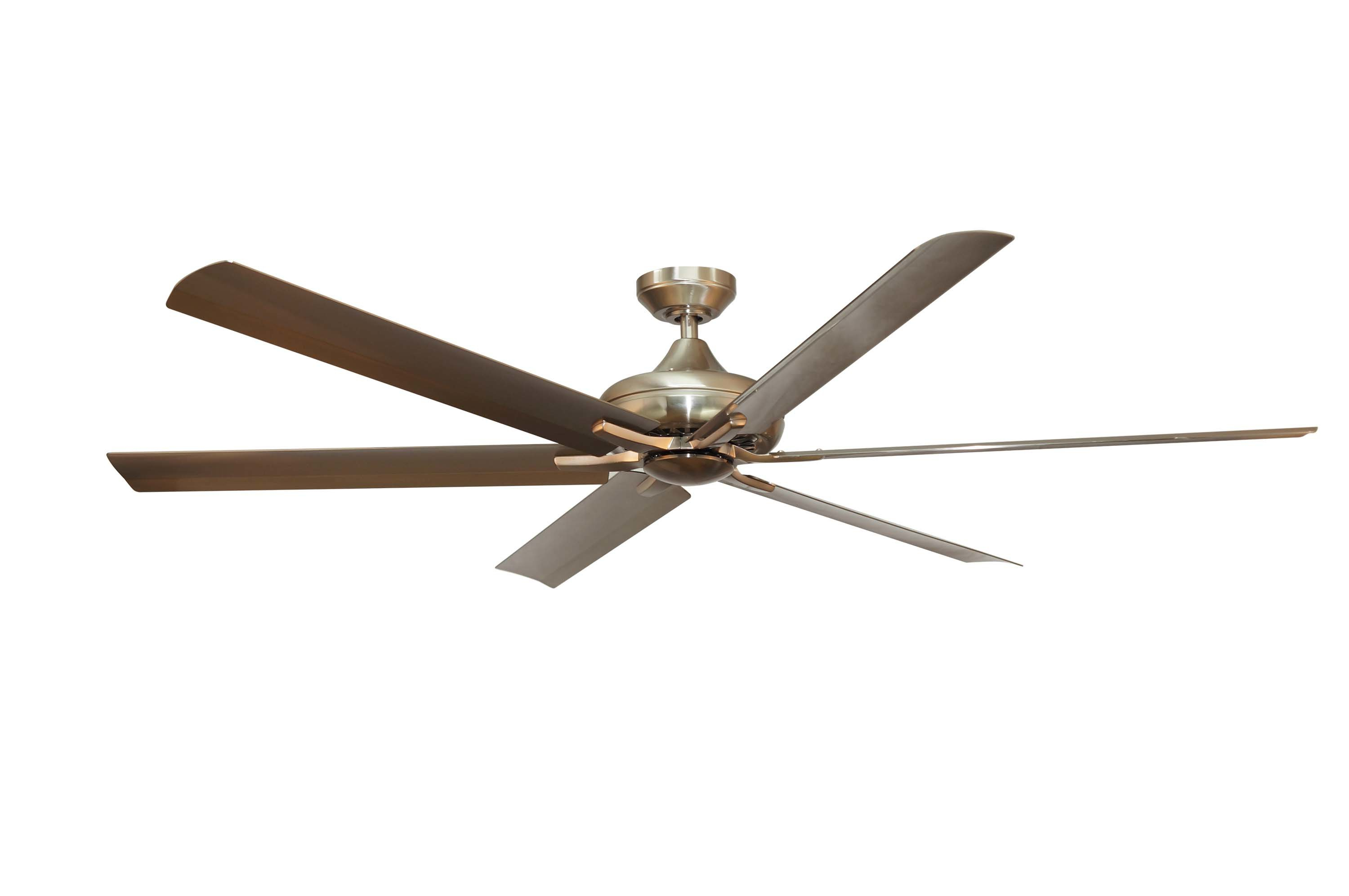 """Fashionable Emil 3 Blade Ceiling Fans In Darby Home Co 70"""" Ayling 6 Blade Ceiling Fan With Remote, Light Kit Included (View 13 of 20)"""