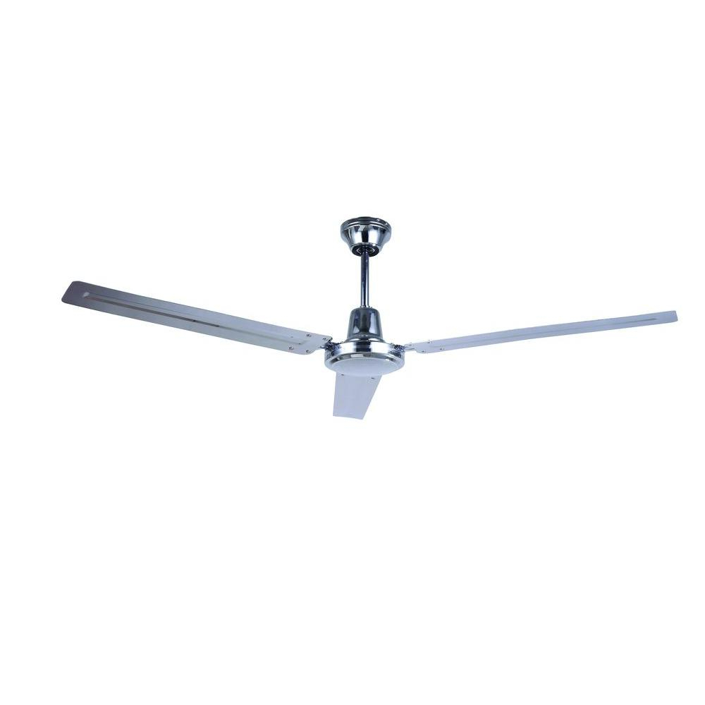 Fashionable Rudolph 3 Blade Ceiling Fans With Regard To 56 In (View 4 of 20)