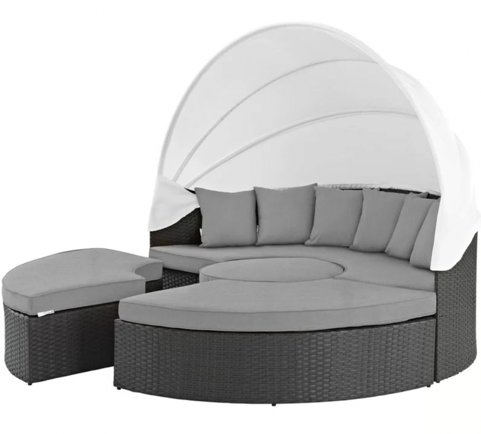 Fashionable Tripp Patio Daybeds With Cushions Throughout Must See Pre Memorial Day Deals At Wayfair (View 15 of 20)