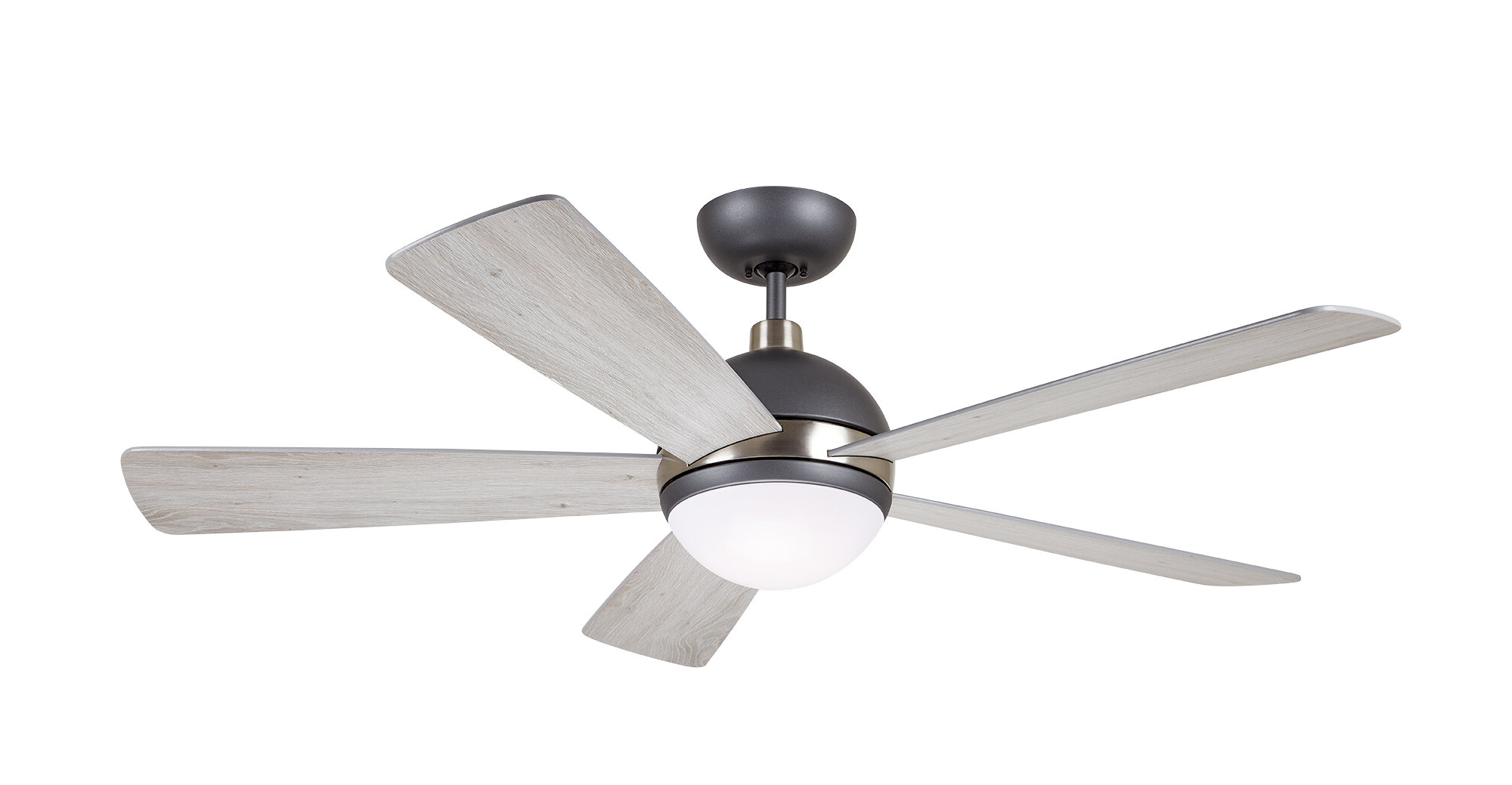 "Favorite 52"" Tion Astor 5 Blade Led Ceiling Fan With Remote Light Kit Included Intended For Tibuh Punched Metal Crystal 5 Blade Ceiling Fans With Remote (View 12 of 20)"