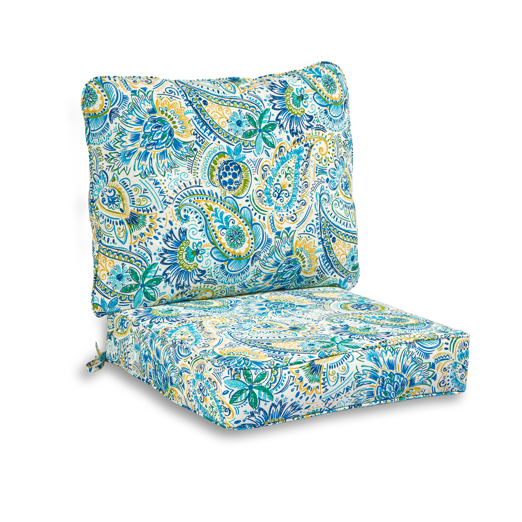 Favorite Baltic Patio Sofas With Cushions Pertaining To Greendale Home Fashions Baltic Outdoor Deep Seat Cushion Set (View 11 of 25)