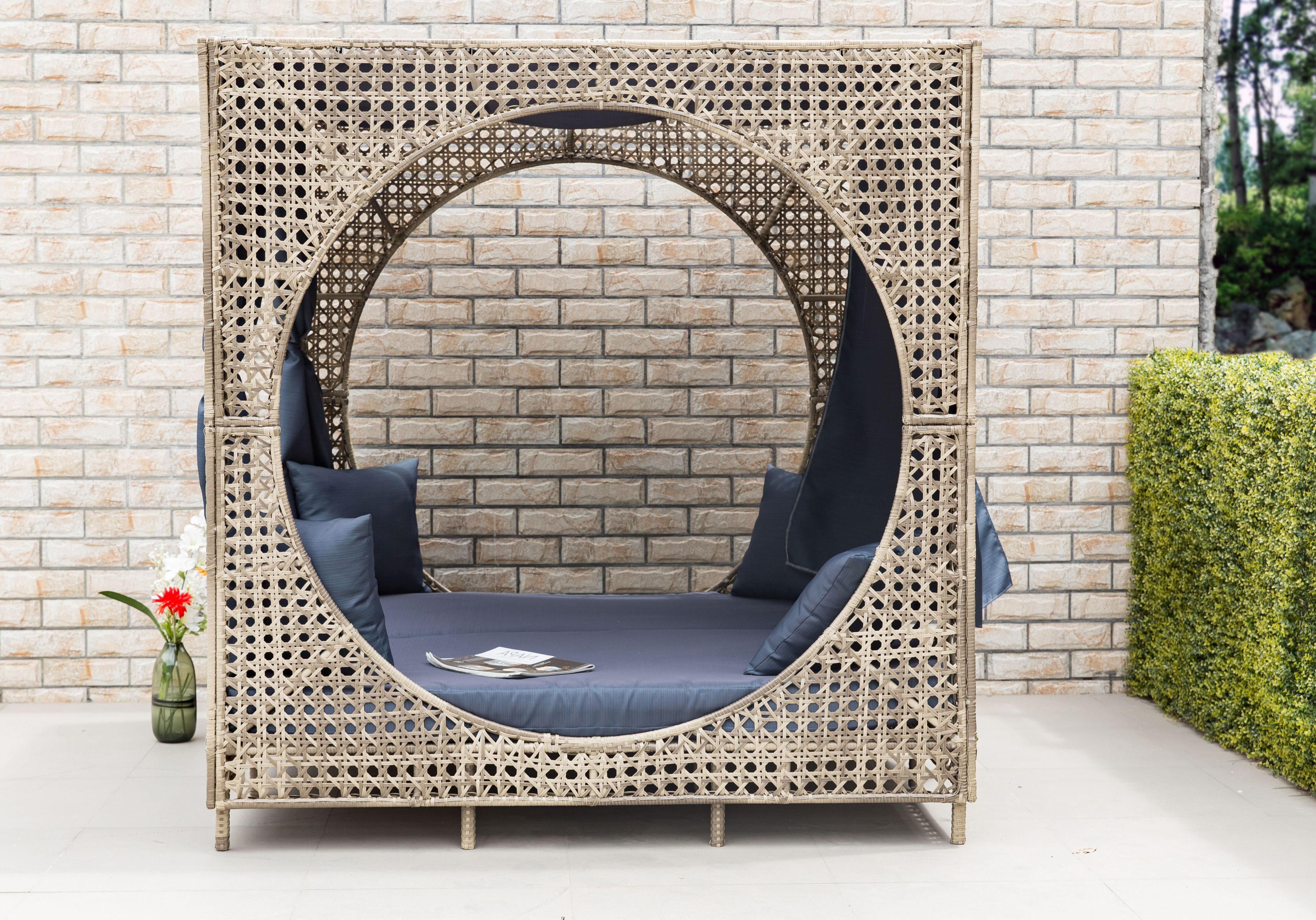 Favorite Brennon Cube Patio Daybed With Cushions For Brennon Cube Patio Daybeds With Cushions (View 2 of 25)